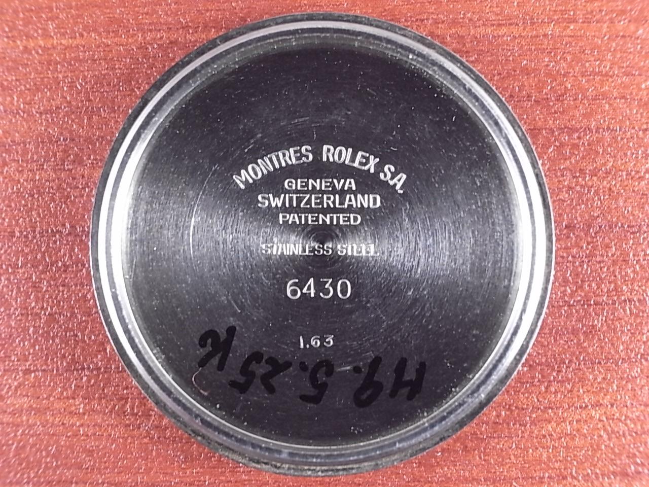 ロレックス スピードキング Ref.6430 ブラックミラー ボーイズサイズ 1960年代の写真6枚目