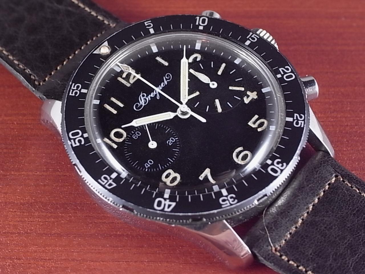 ブレゲ タイプ20 パイロットクロノグラフ 第二世代初期モデル 1970年代のメイン写真