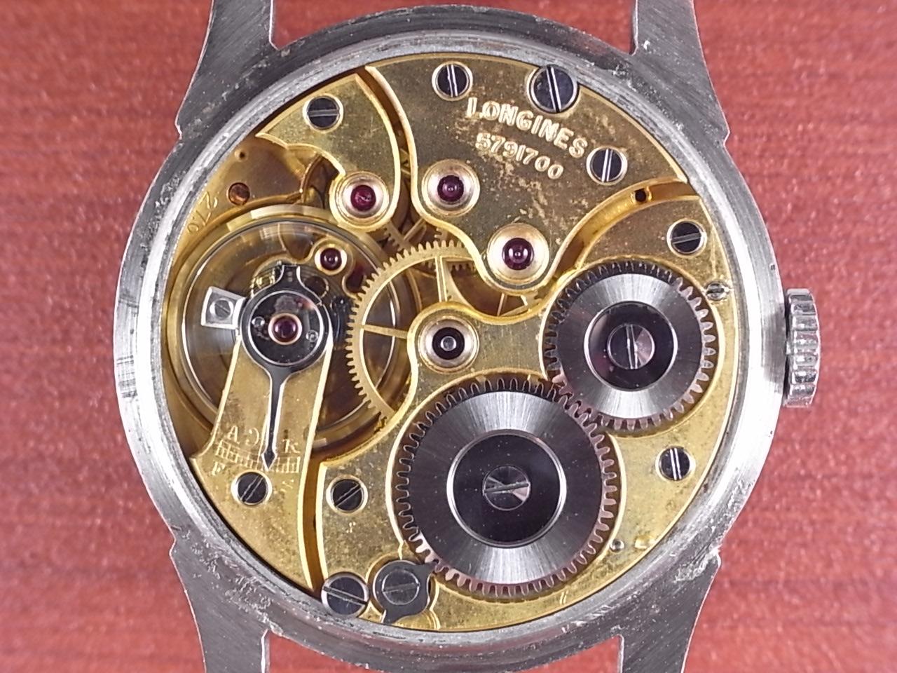 ロンジン ブルズアイ グレー/ゴールド ニアミントコンディション 1930年代の写真5枚目