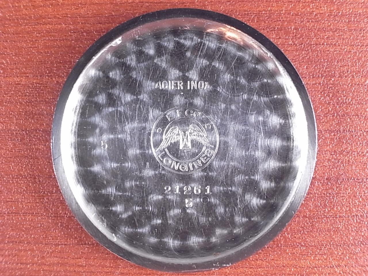 ロンジン ブルズアイ グレー/ゴールド ニアミントコンディション 1930年代の写真6枚目