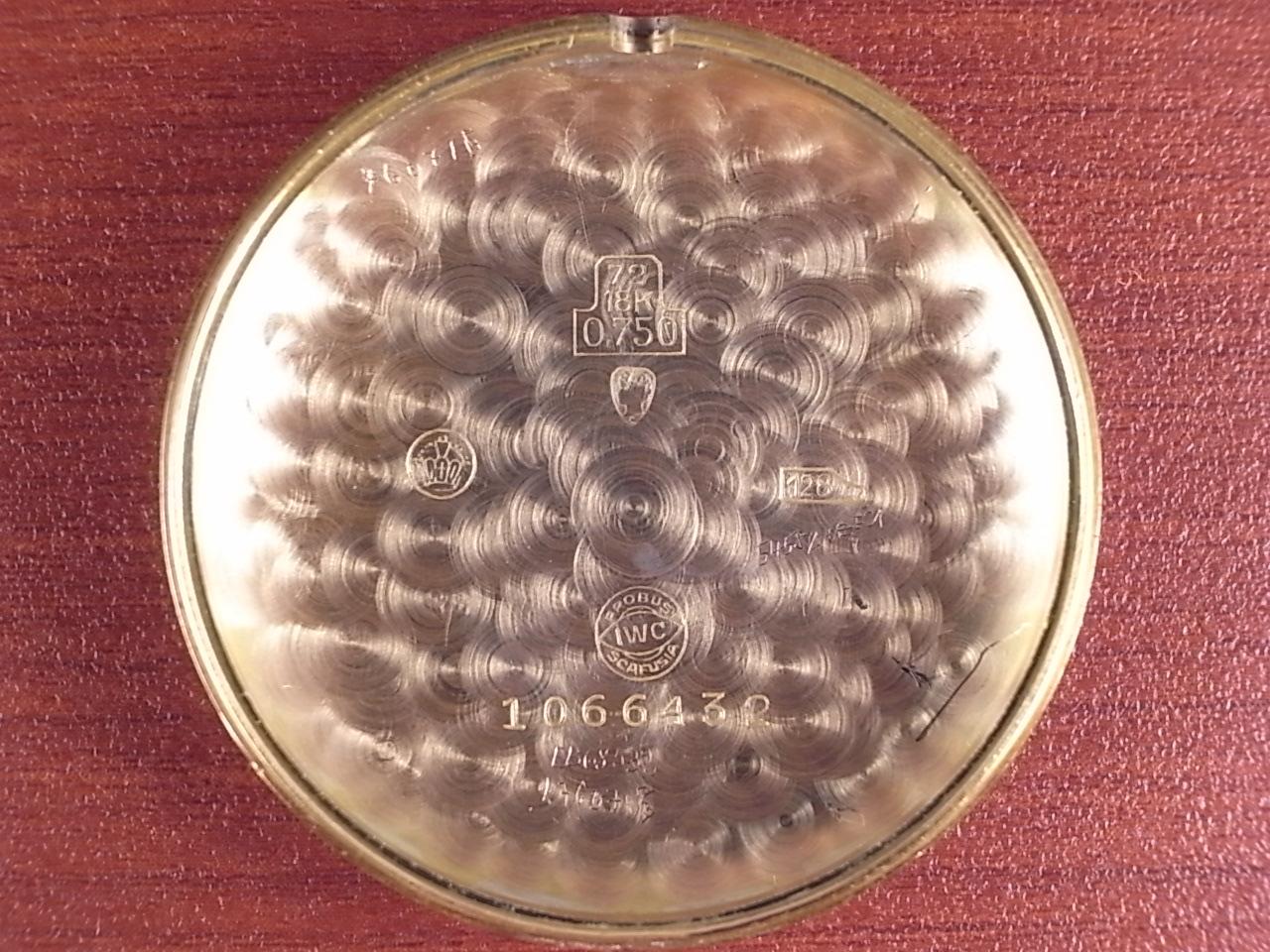 IWC インター キャリバー62 18KPG ティアドロップラグ 1940年代の写真6枚目