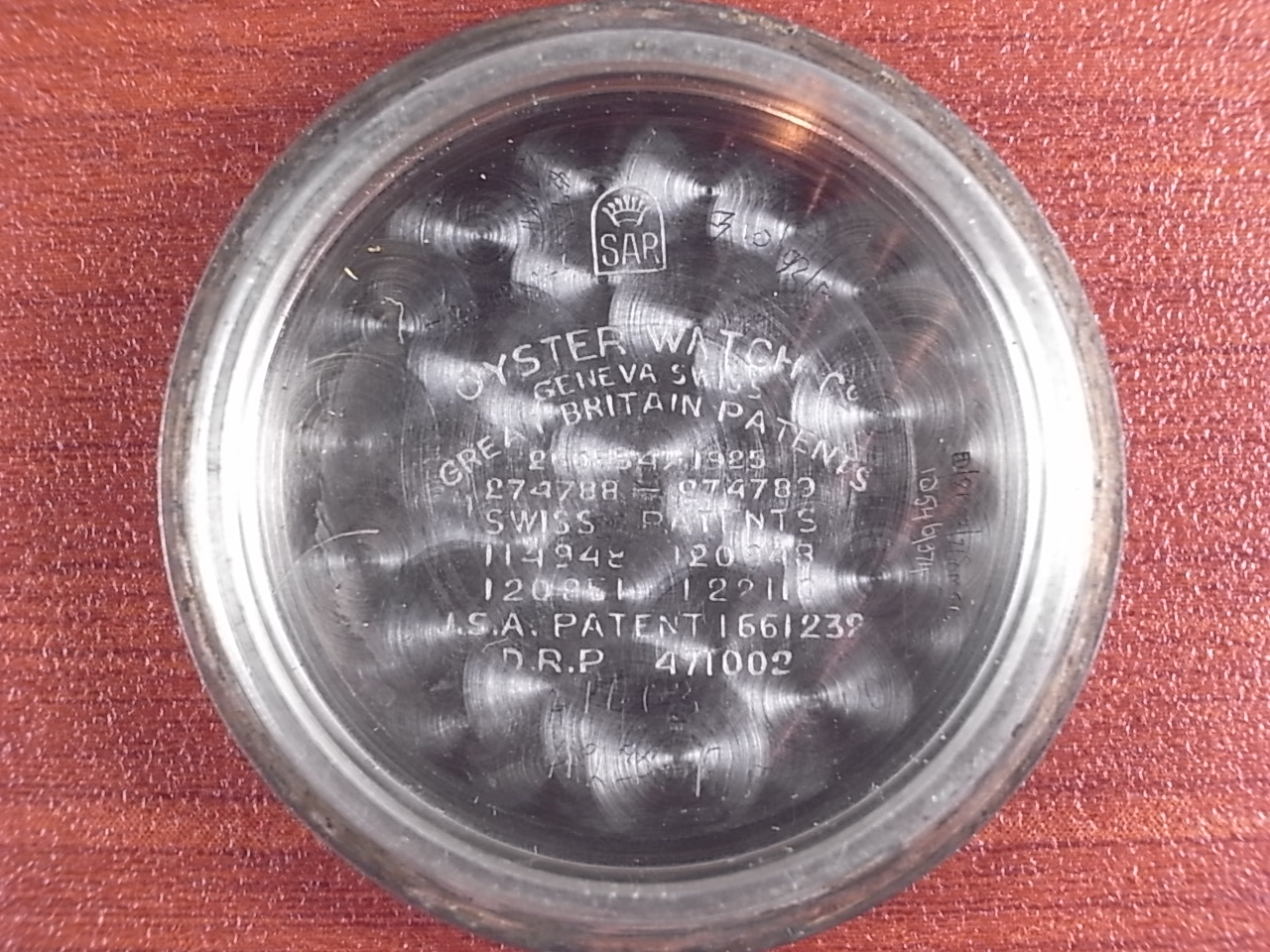 オイスター ジュニアスポーツ Ref.2784 スモールセコンド 1940年代の写真6枚目