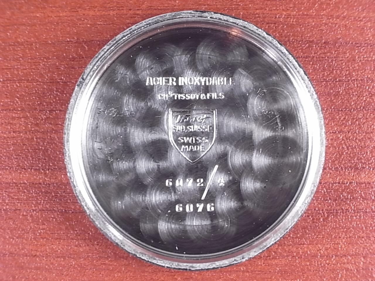 ティソ ブルズアイ ブラウン/グレー 2トーンダイアル 1940年代の写真6枚目