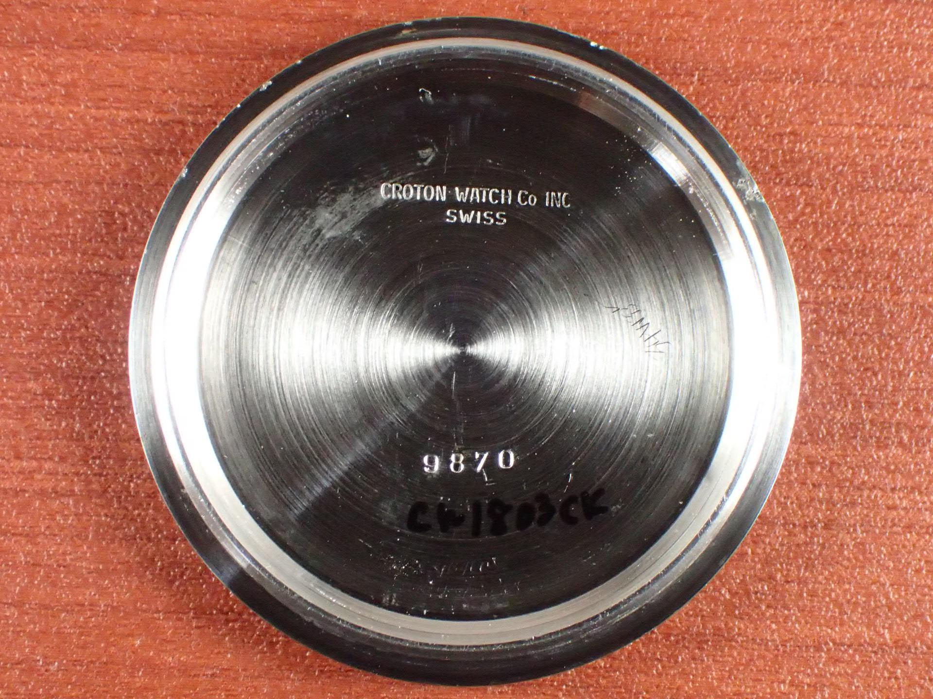 クロトン クロノマスター クロノグラフ バルジュー23 1960年代の写真6枚目