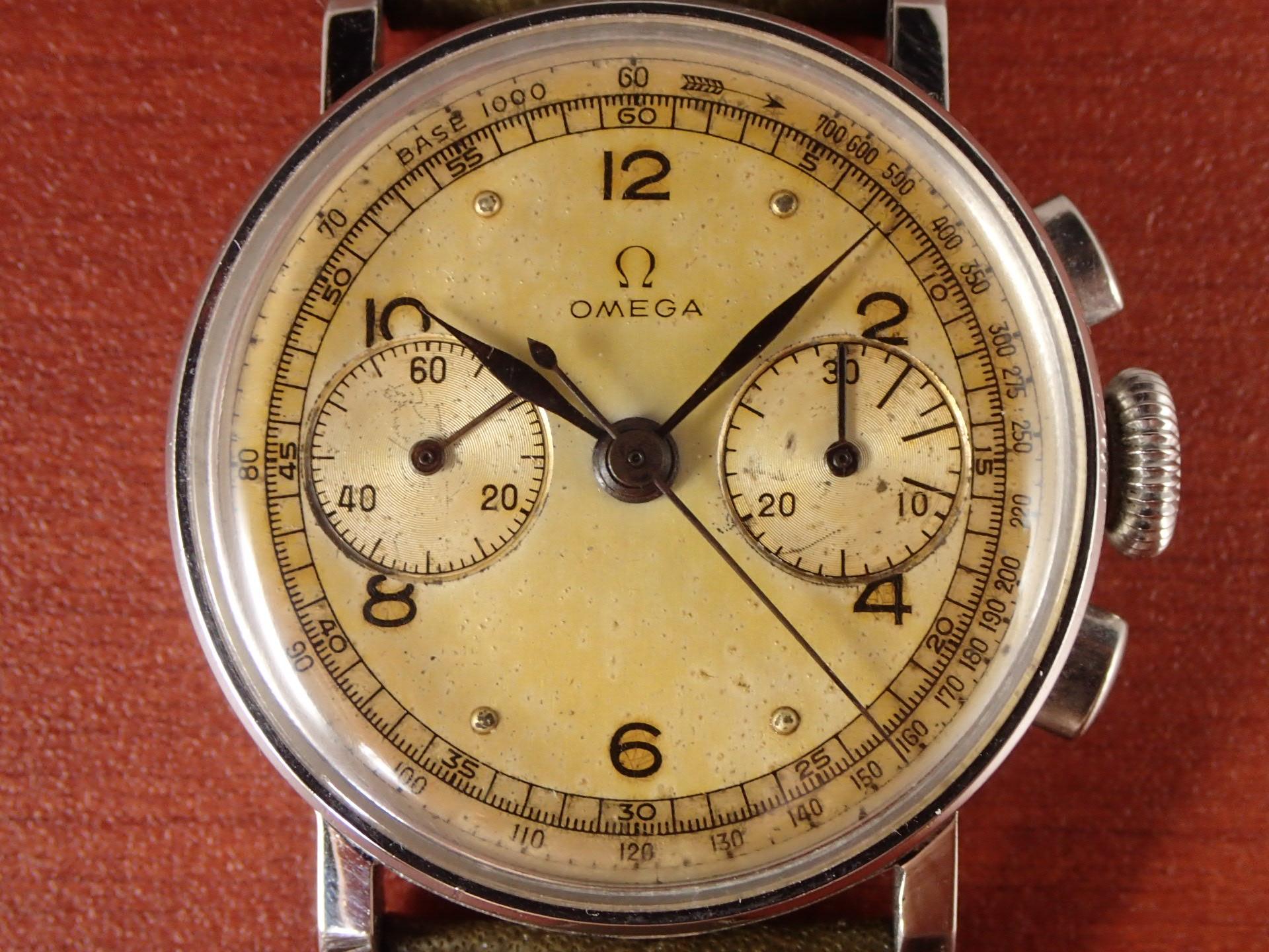 オメガ クロノグラフ キャリバー28.9 CHRO T2 1940年代の写真2枚目