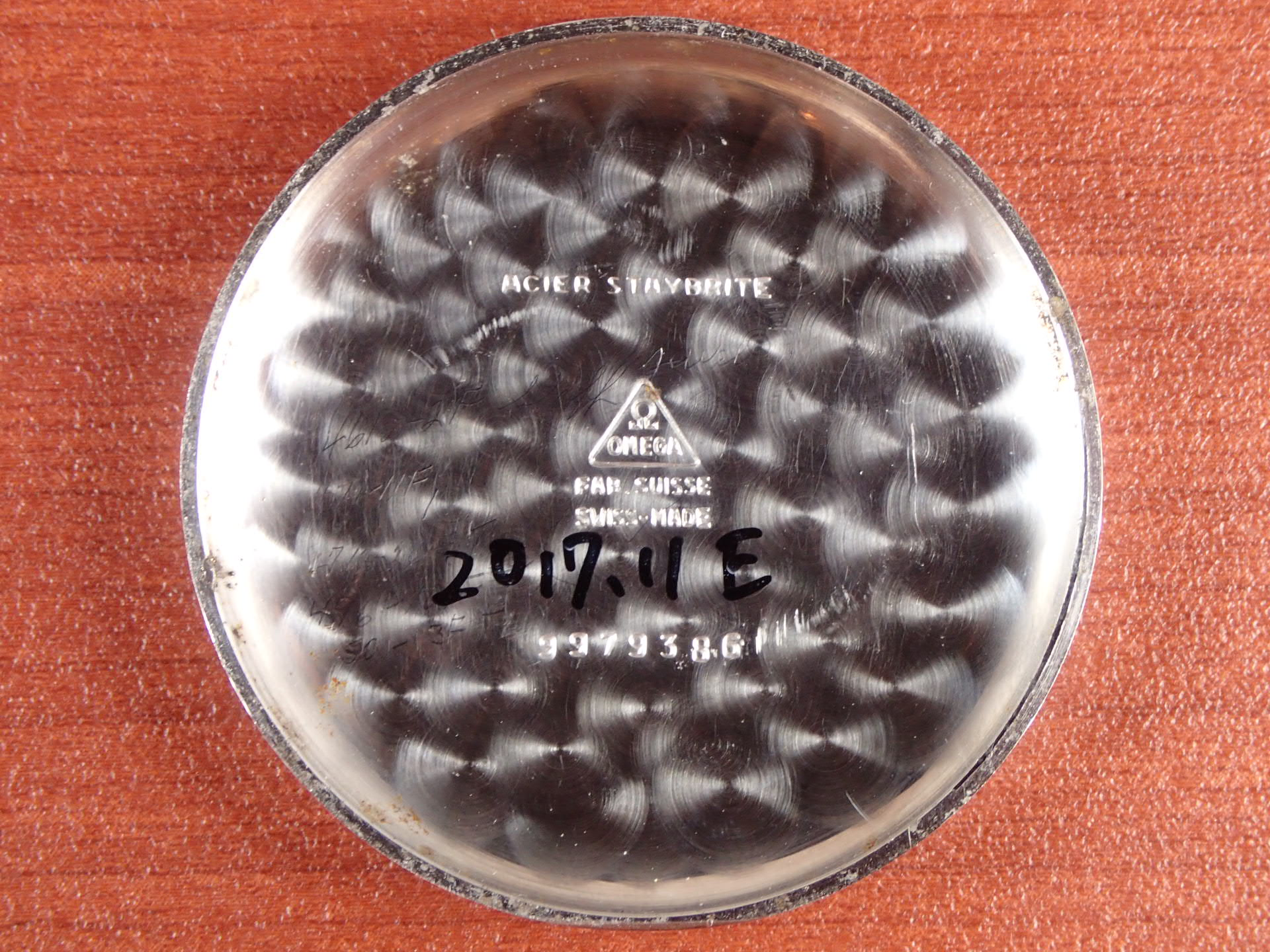 オメガ クロノグラフ キャリバー28.9 CHRO T2 1940年代の写真6枚目