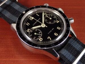 アウリコスト タイプ20 パイロットウォッチ フライバック クロノグラフ 1960年代