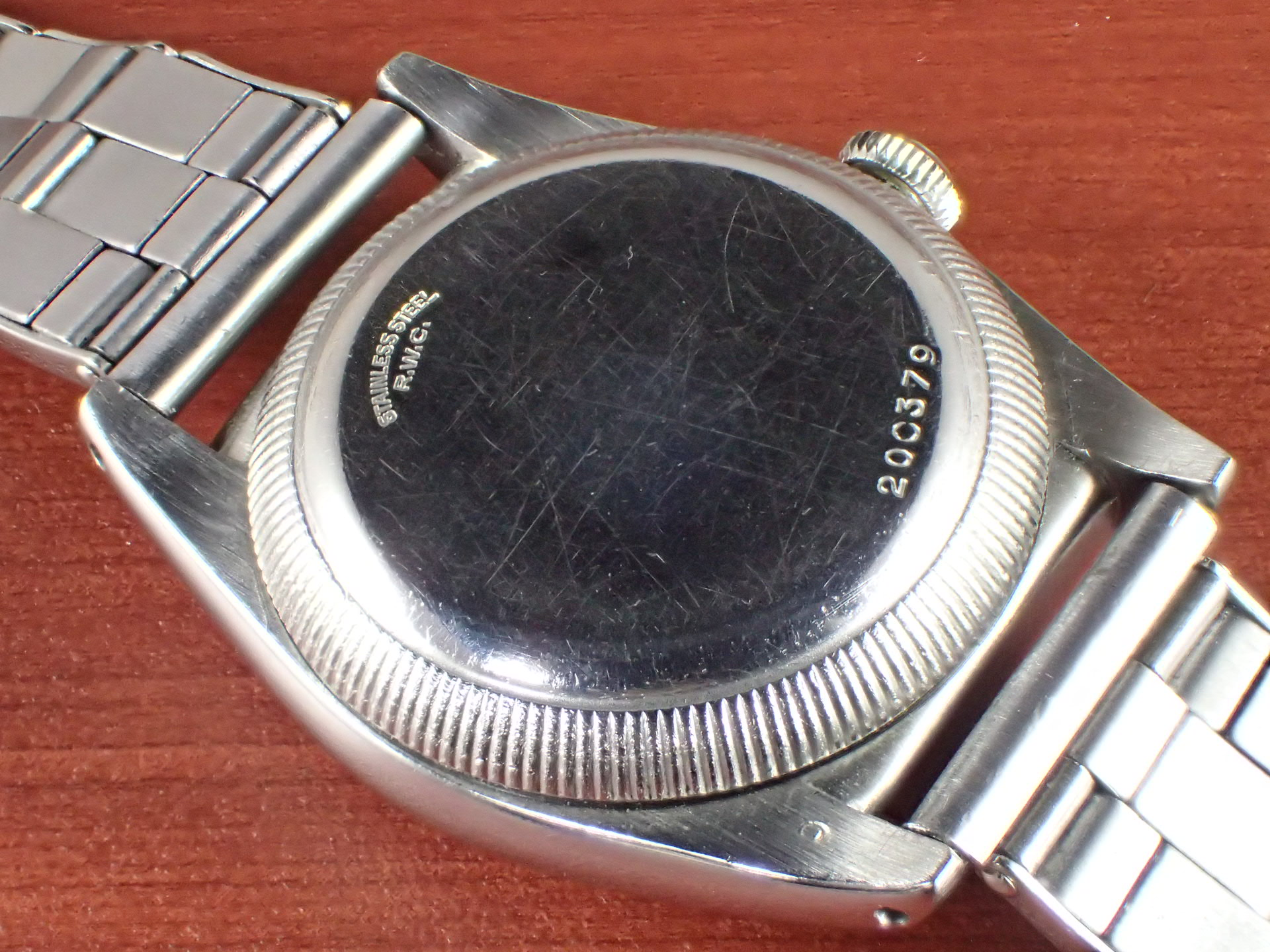 ロレックス バブルバック Ref.2940 セクターダイアル GFブレス付き 1940年代の写真4枚目