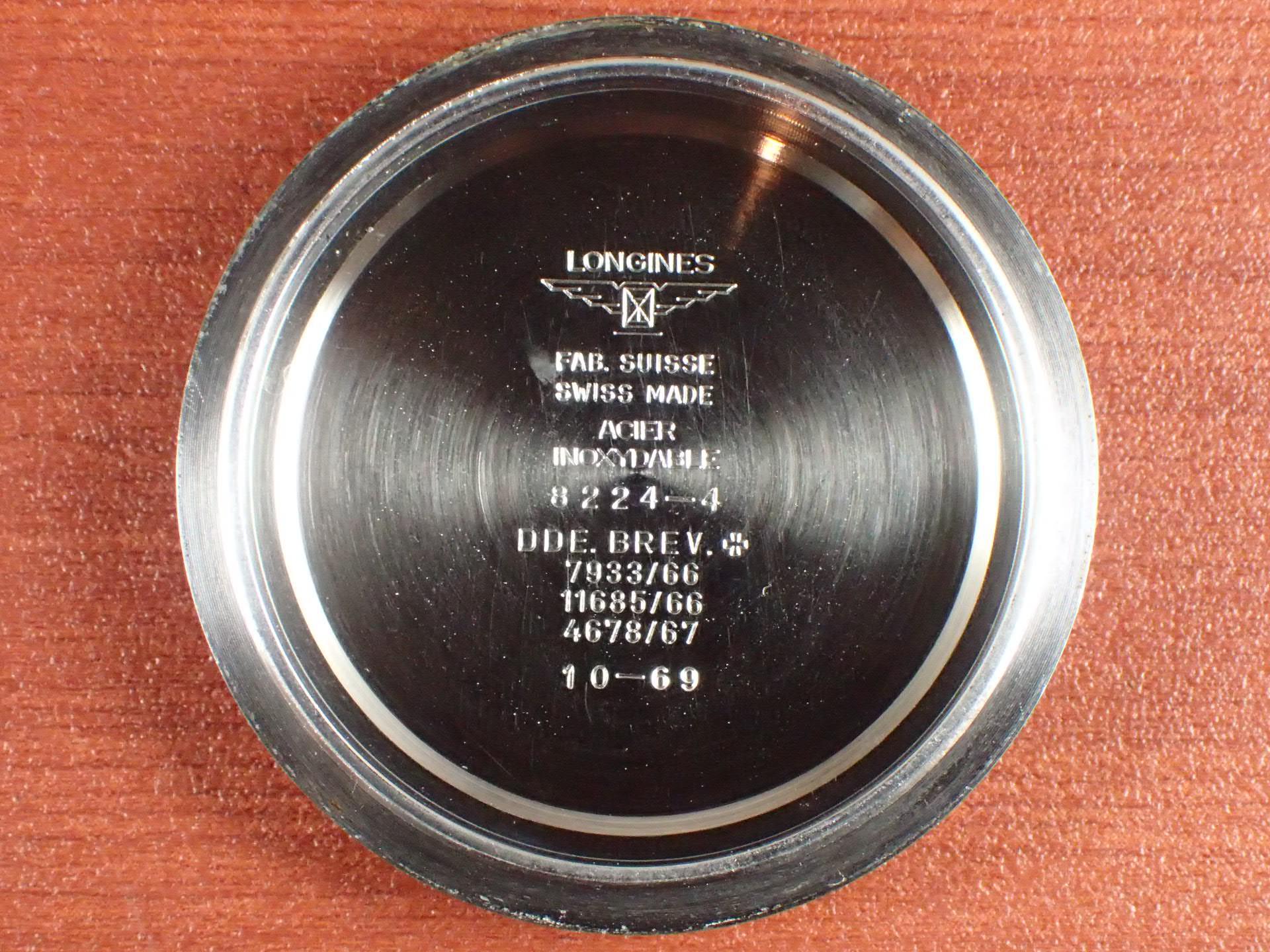 ロンジン クロノグラフ バルジュー72 シースルーバック付き 1970年代の写真6枚目