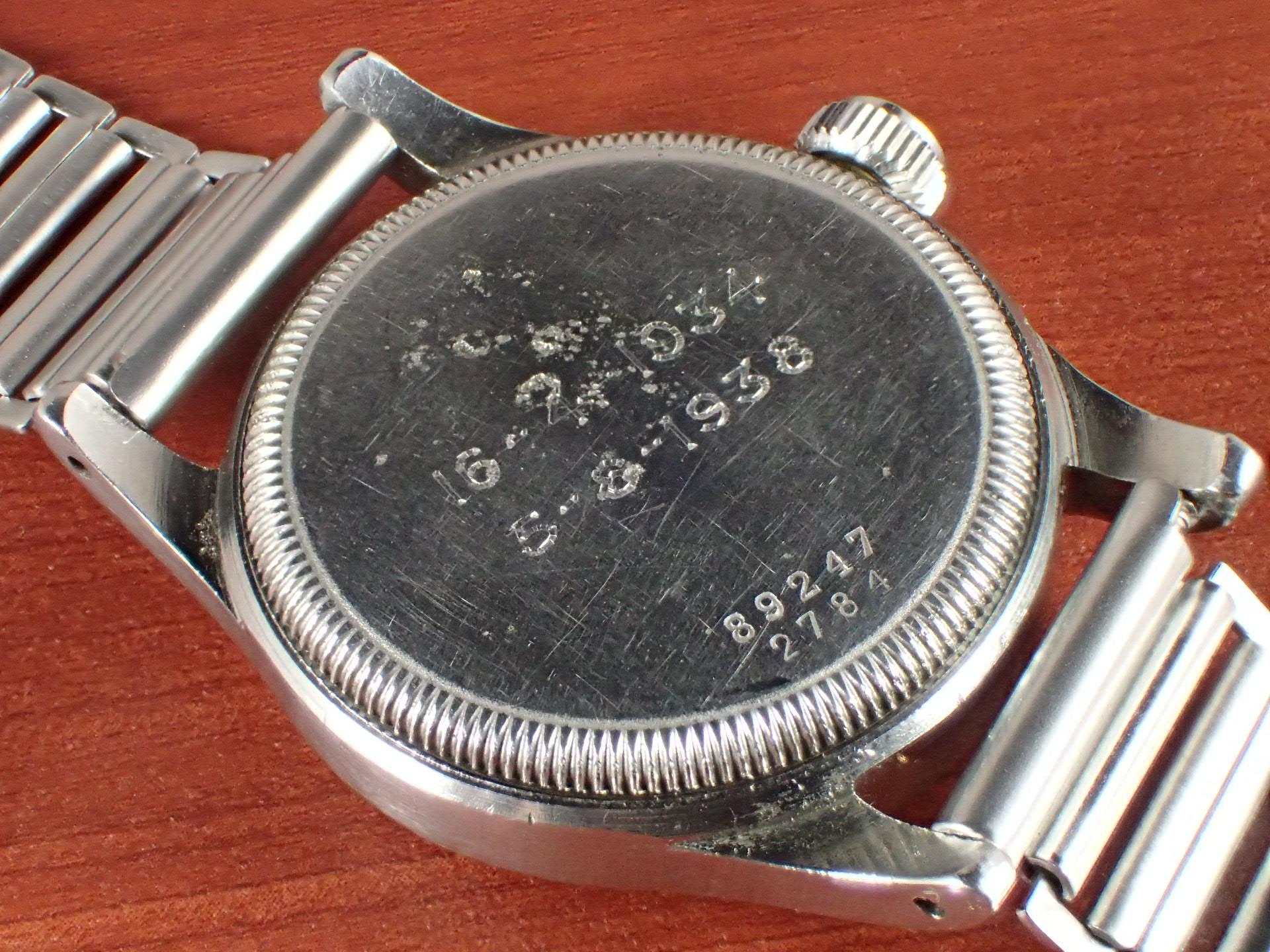 オイスター チュードル ガンメーター トリプルネーム セクターダイアル 1930年代の写真4枚目
