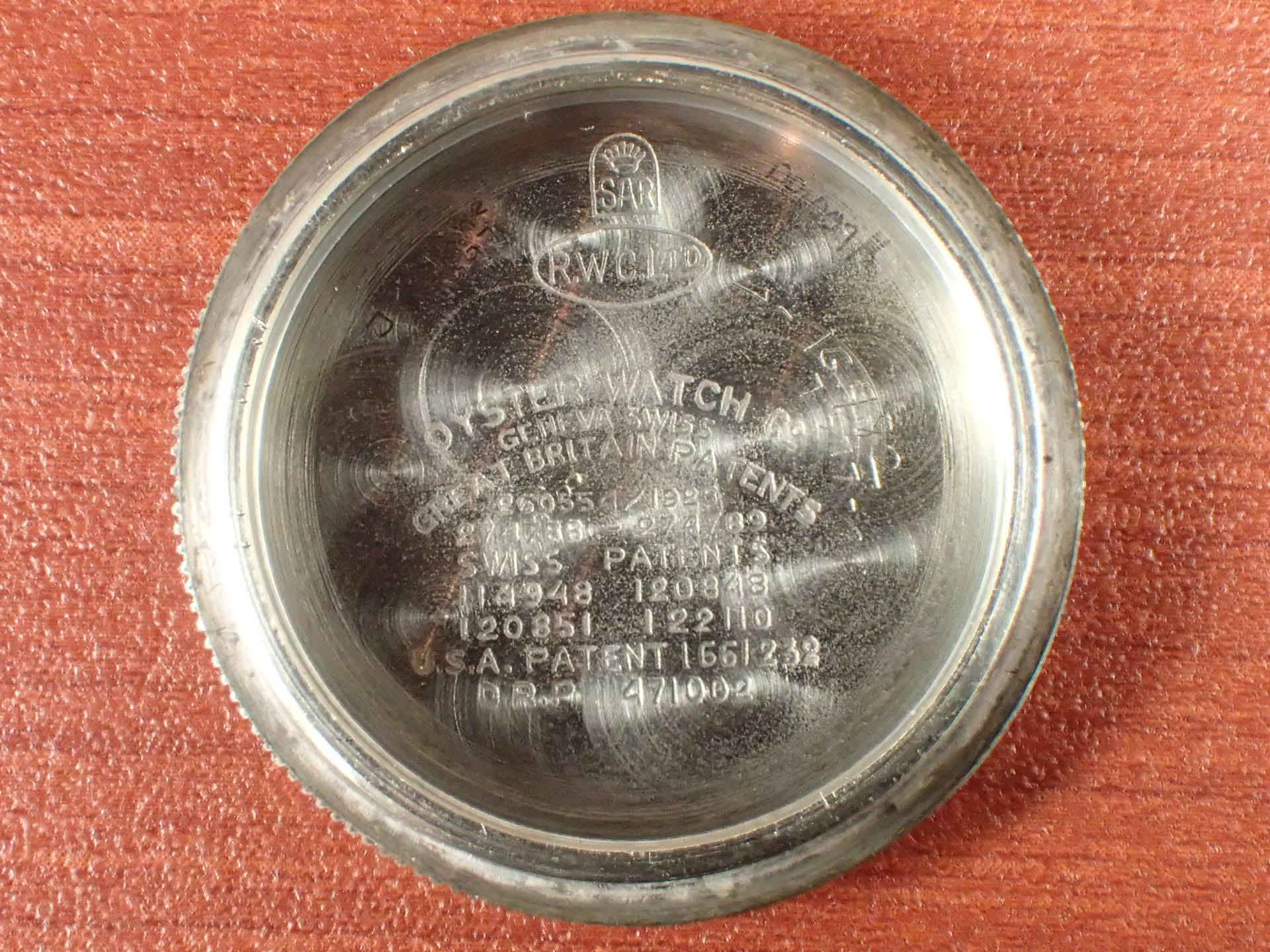 オイスター チュードル ガンメーター トリプルネーム セクターダイアル 1930年代の写真6枚目