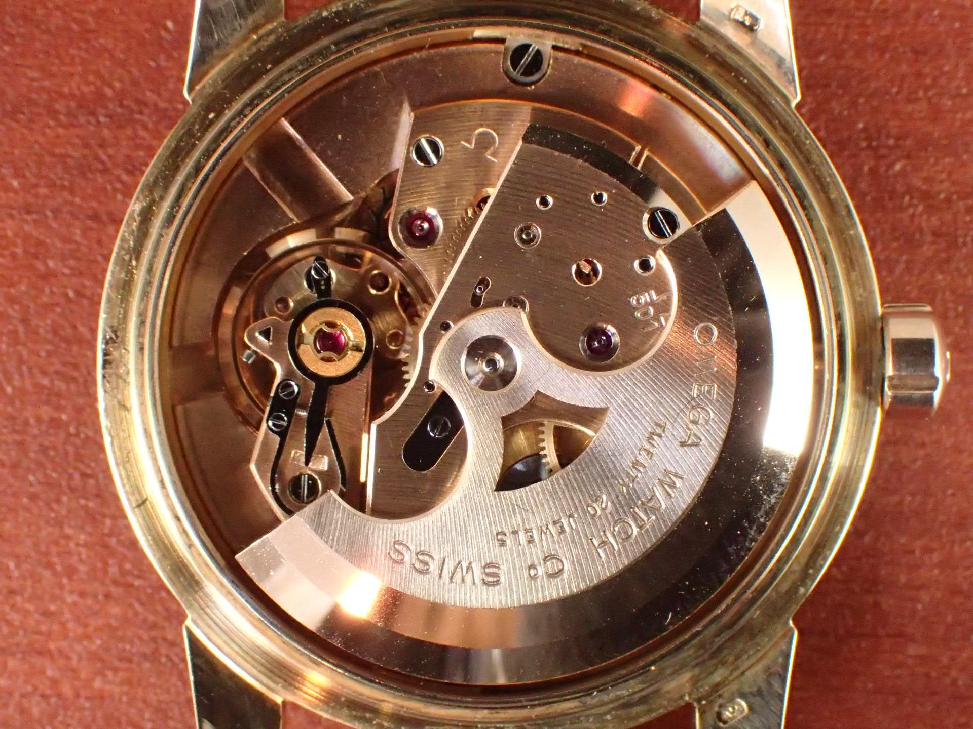 オメガ シーマスター 18KPG Cal.501 1950年代の写真5枚目