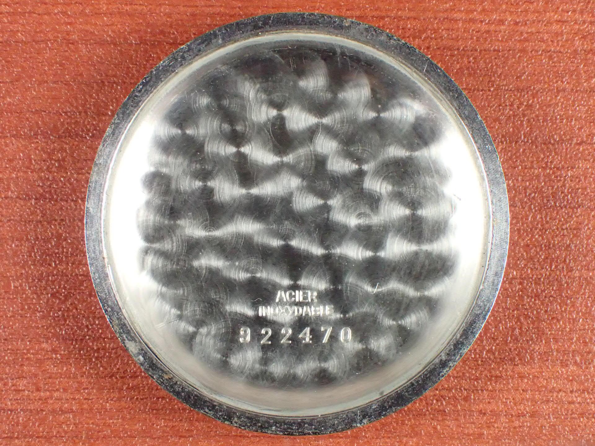 エクセルシオパーク クロノグラフ ブラックミラーダイアル キャリバー4 1940年代の写真6枚目