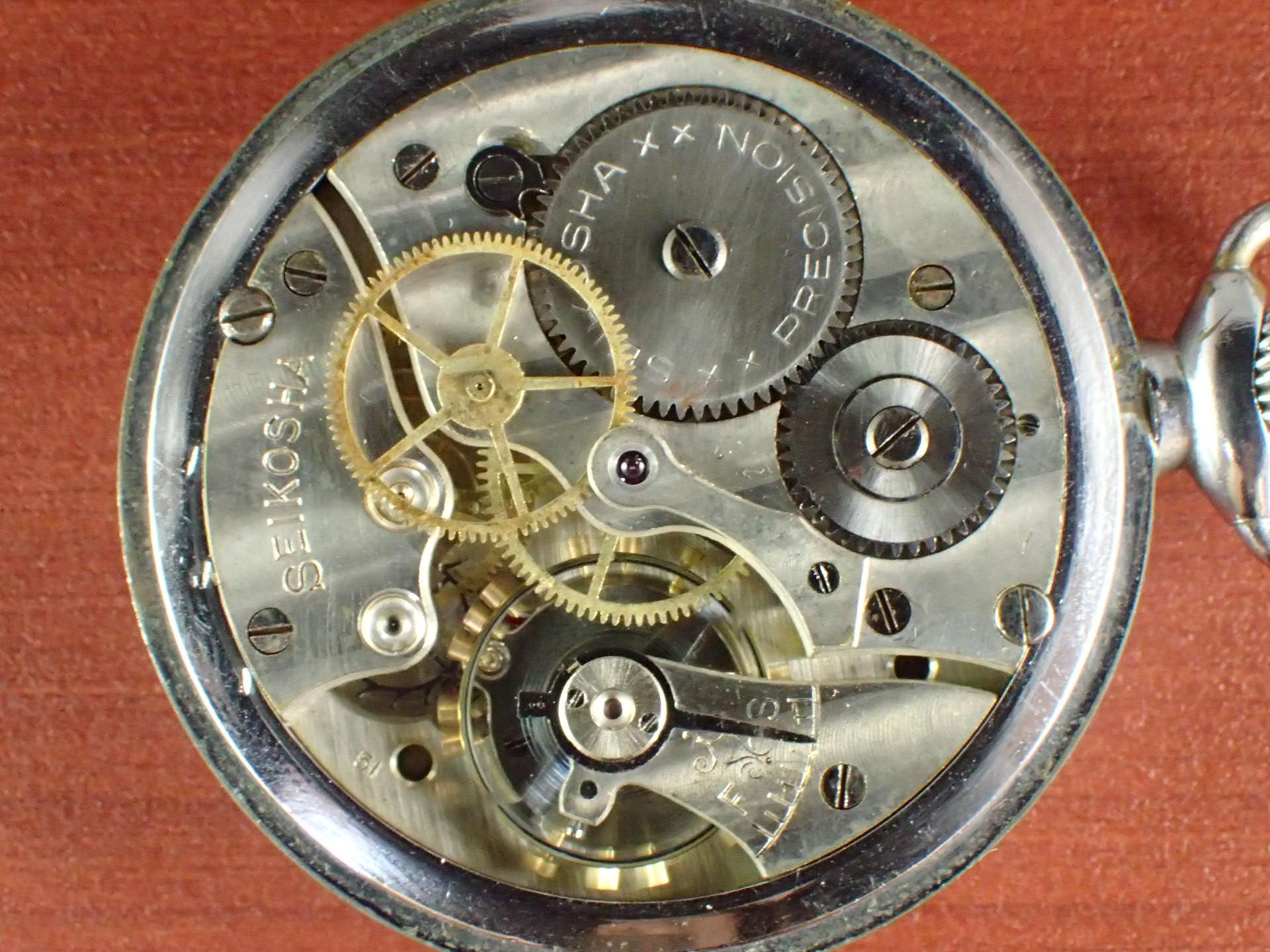 精工舎 ポケットウォッチ 旧日本軍 100式飛行時計 1940年代の写真5枚目
