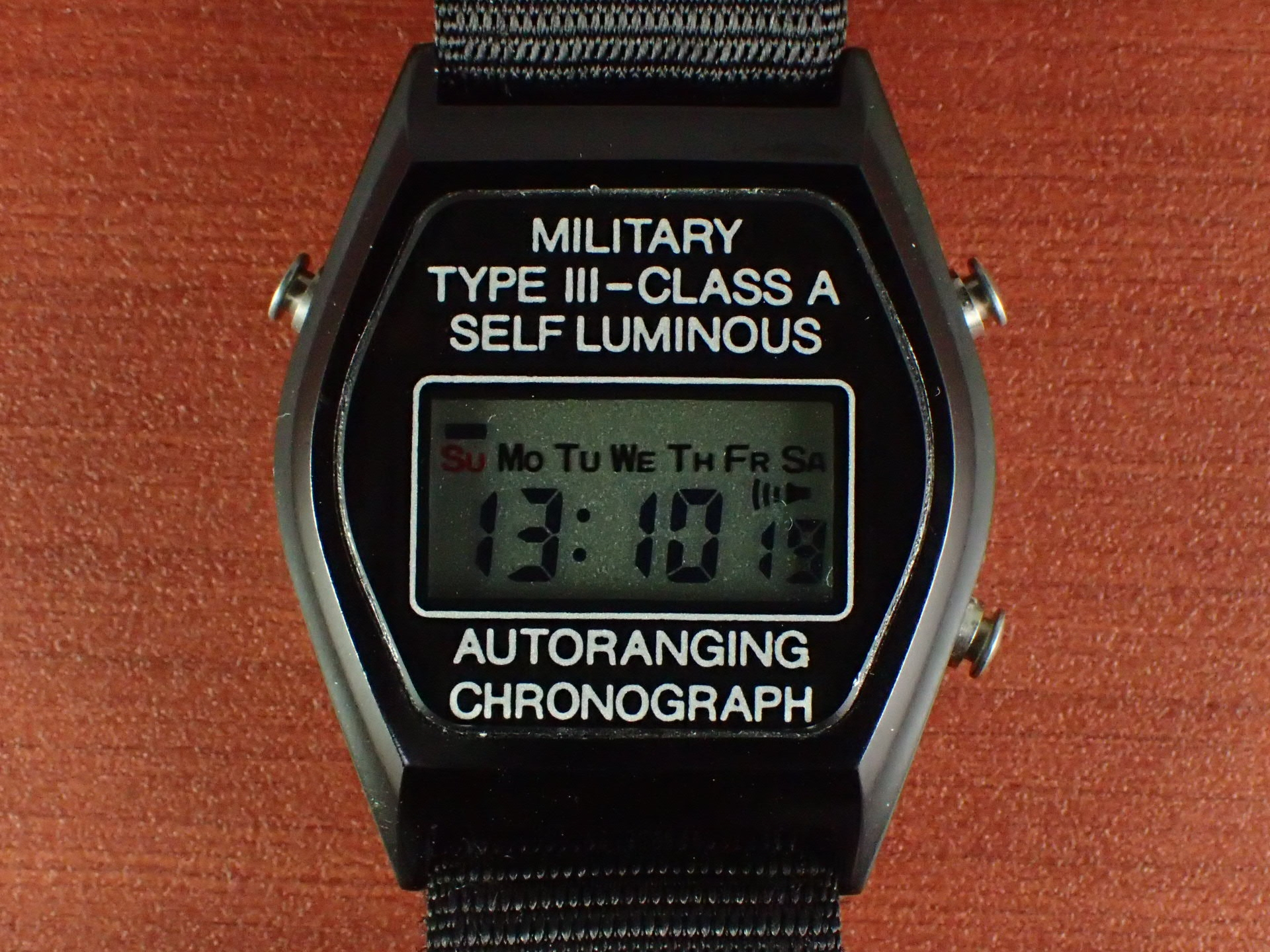ストッカー&イエール アメリカ空軍 TYPE Ⅲ-CLASS A デジタル 1980年代の写真2枚目