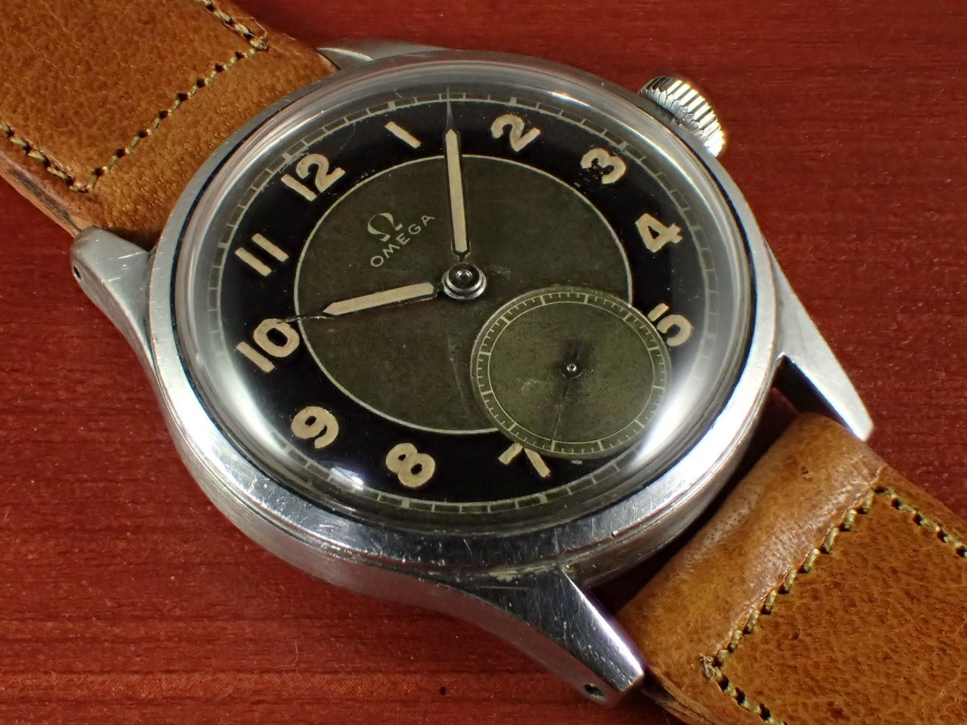 オメガ 30mmキャリバー ブルズアイ Ref.2383-6 1940年代のメイン写真