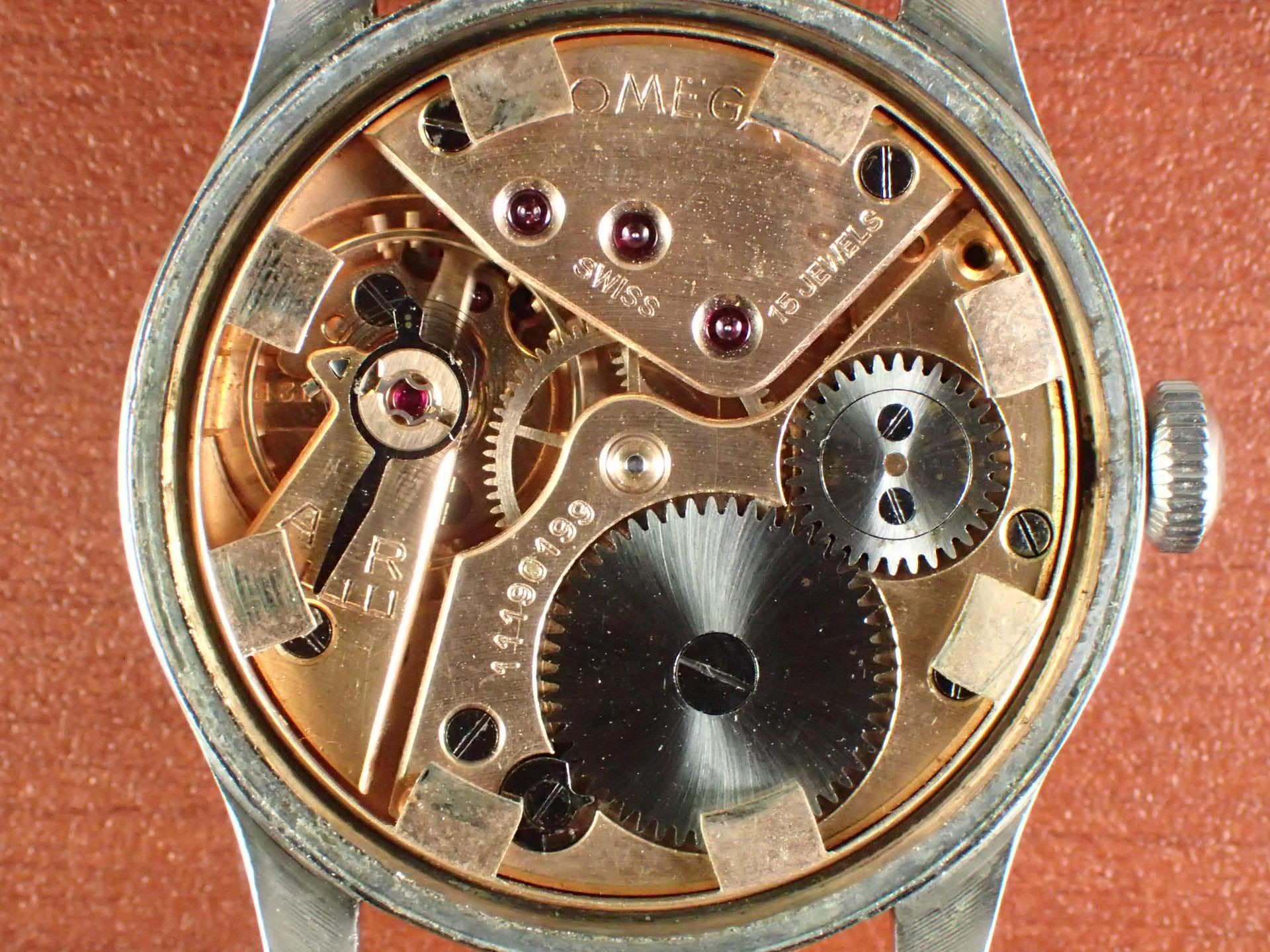 オメガ 30mmキャリバー ブルズアイ Ref.2383-6 1940年代の写真5枚目