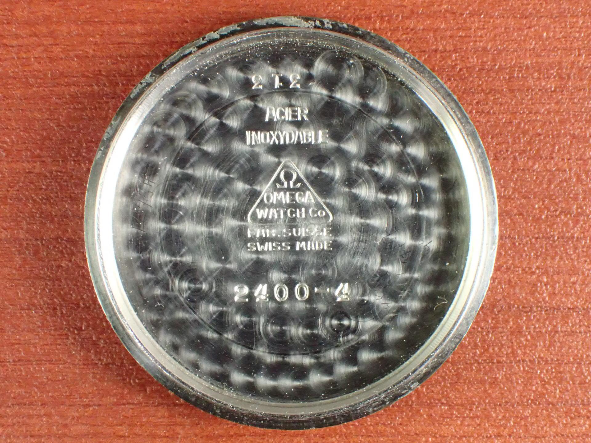 オメガ スベラン 30mmキャリバー ブルズアイ 1940年代の写真6枚目