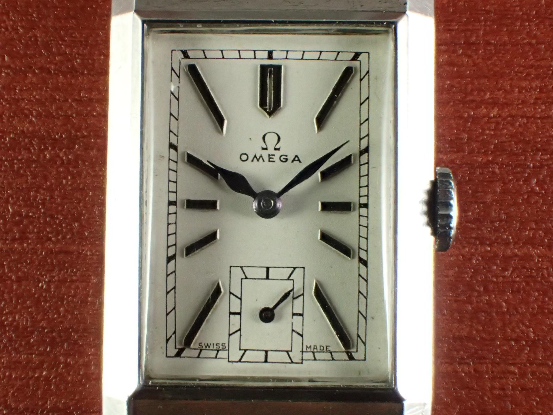 オメガ アールデコ レクタンギュラー Ref.CK689 1930年代の写真2枚目