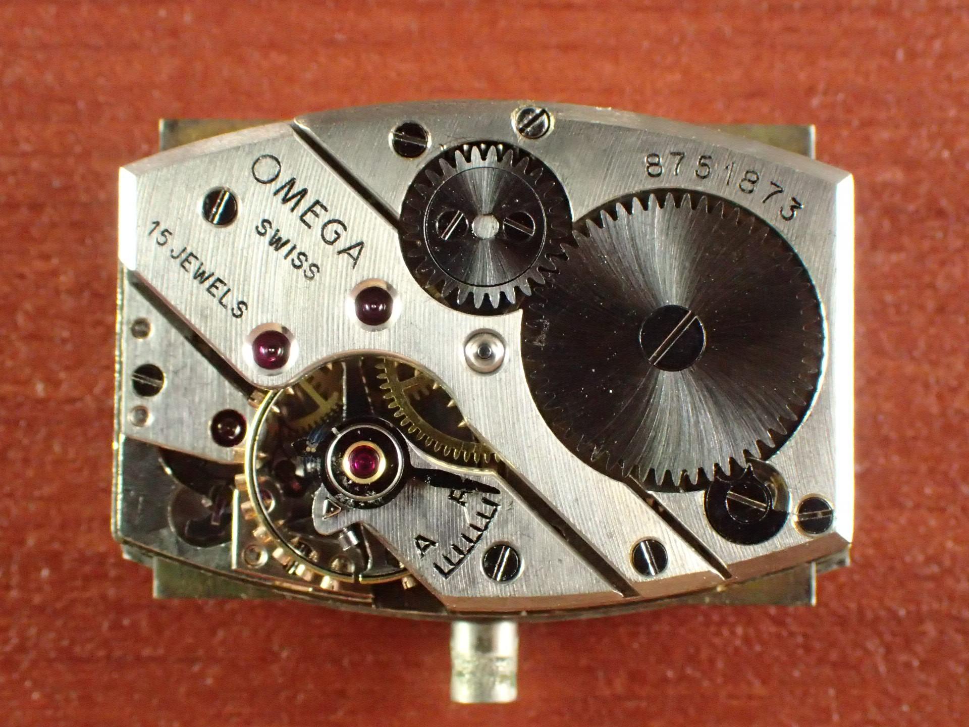 オメガ アールデコ レクタンギュラー Ref.CK689 1930年代の写真5枚目