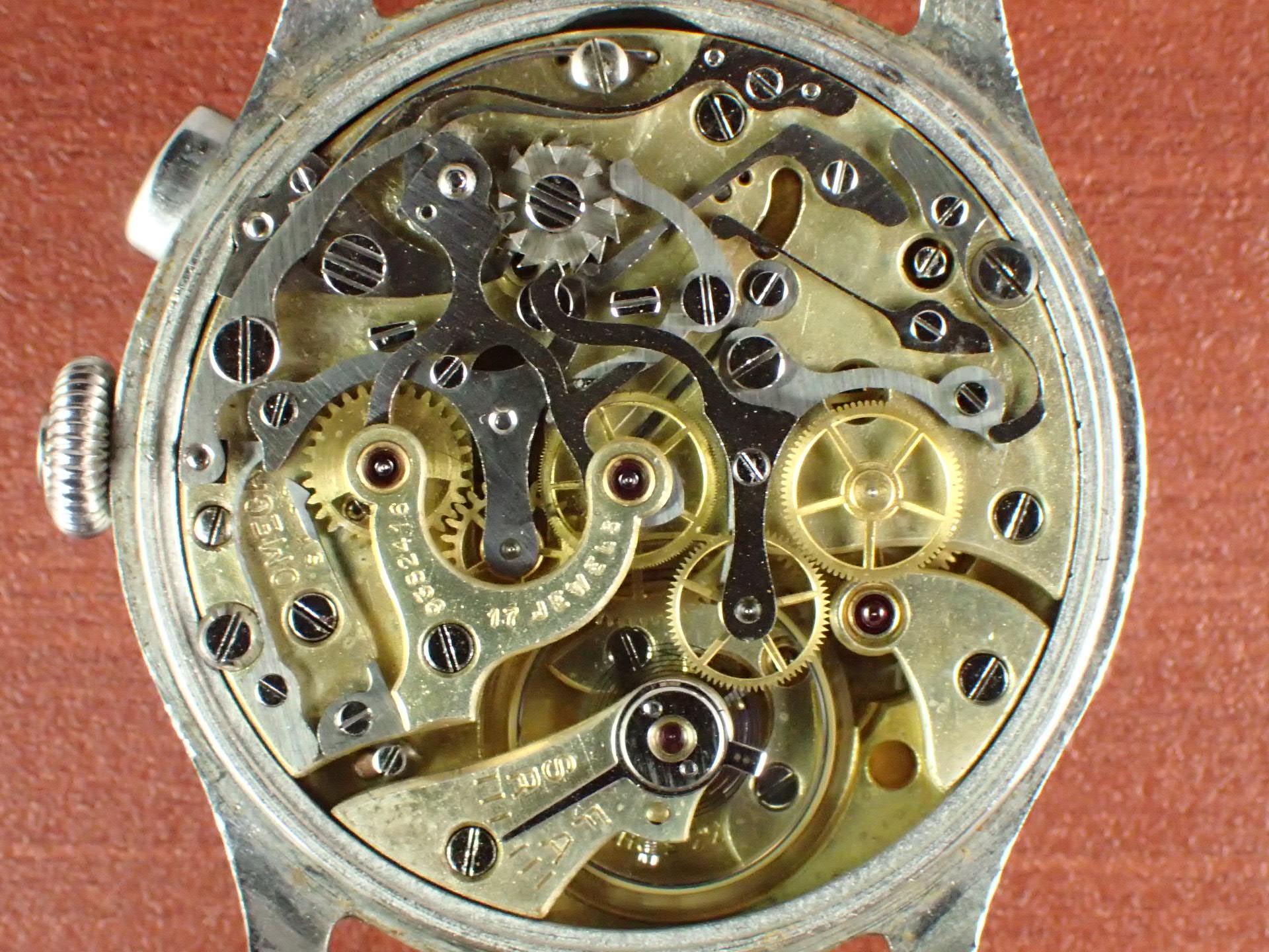 オメガ クロノグラフ キャリバー33.3CHRO ブレゲインデックス 1940年代の写真5枚目