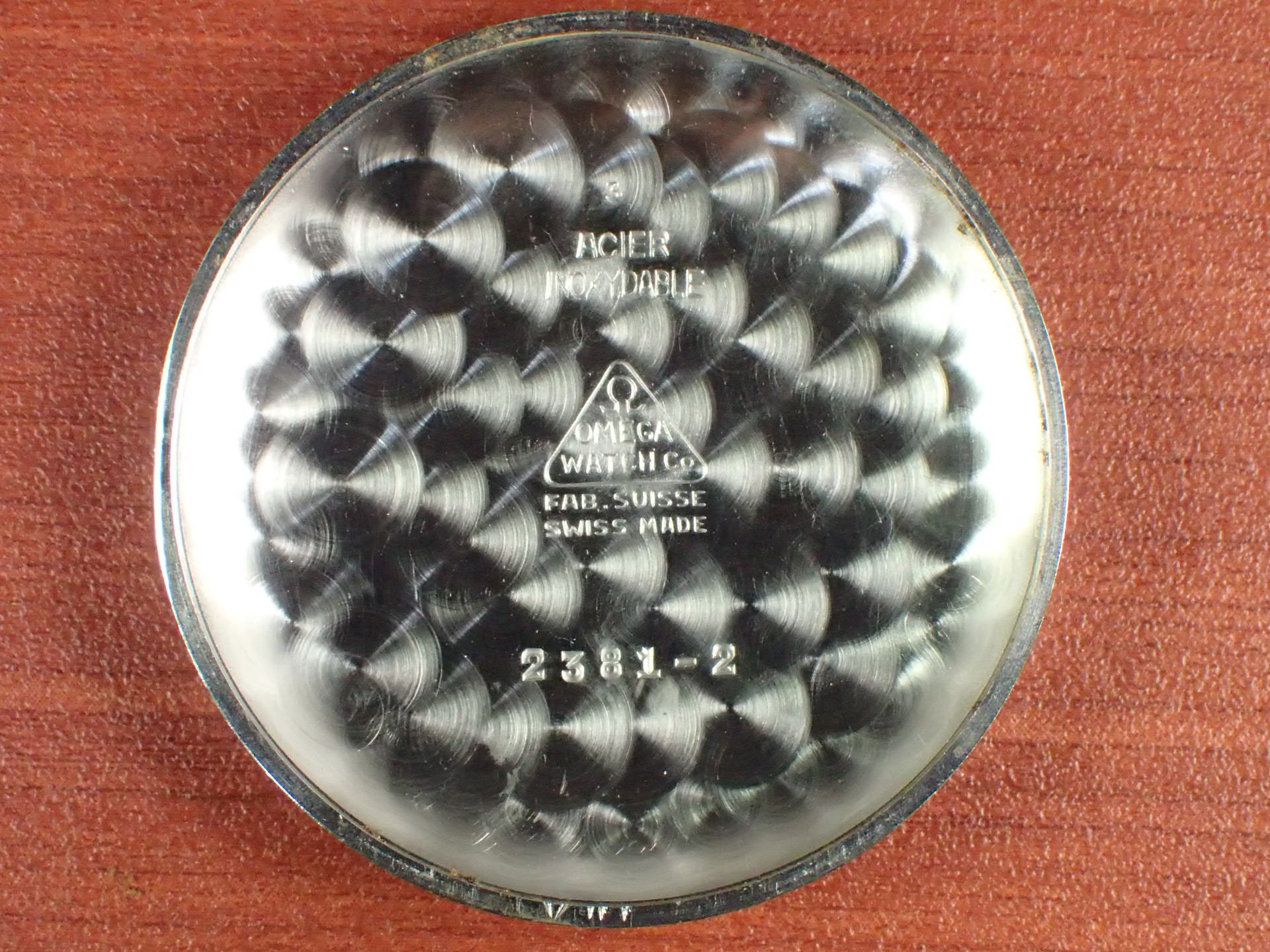 オメガ クロノグラフ キャリバー33.3CHRO ブレゲインデックス 1940年代の写真6枚目