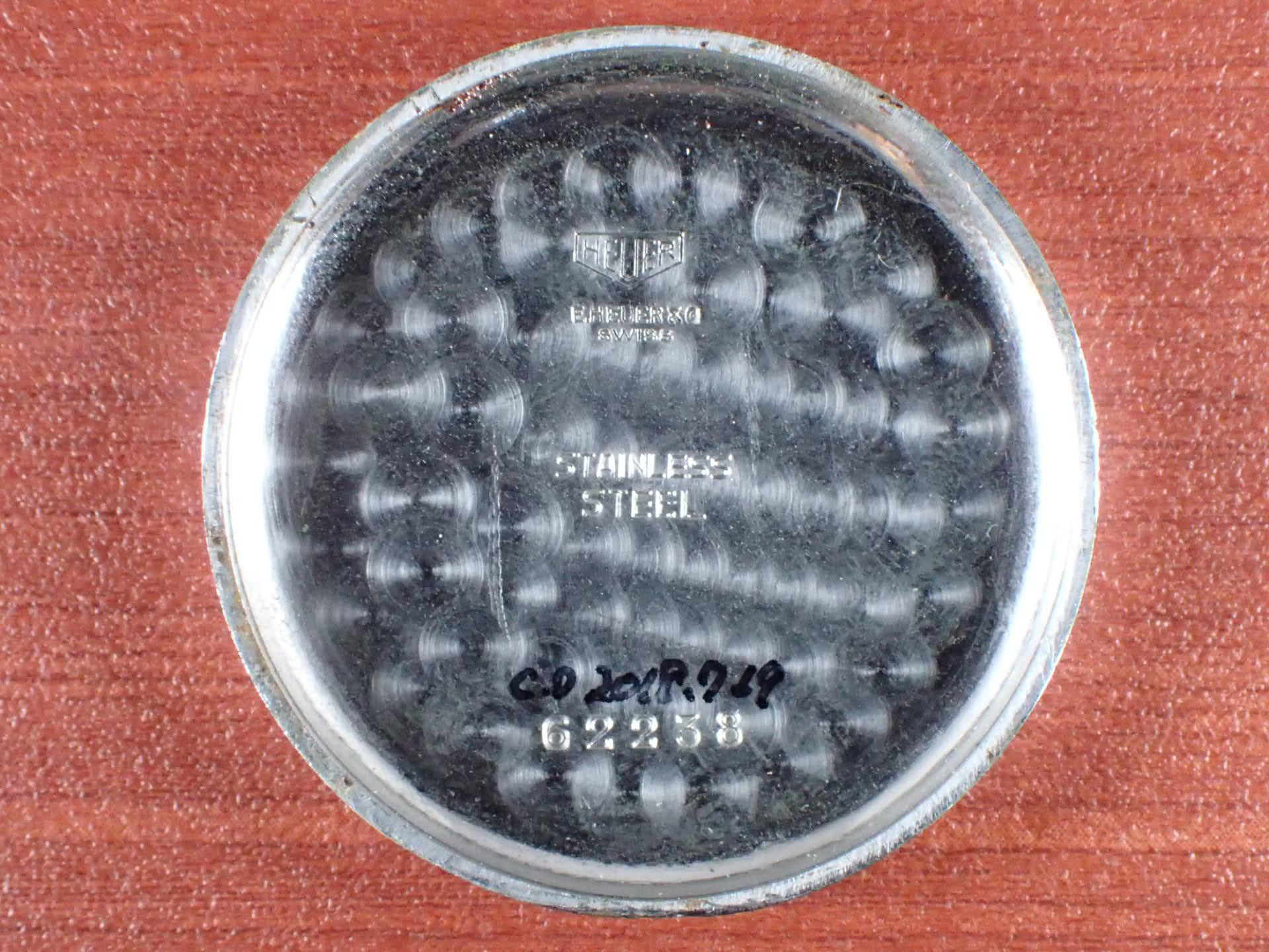 ホイヤー クロノグラフ Cal.バルジュー23 コパーダイアル 1940年代の写真6枚目