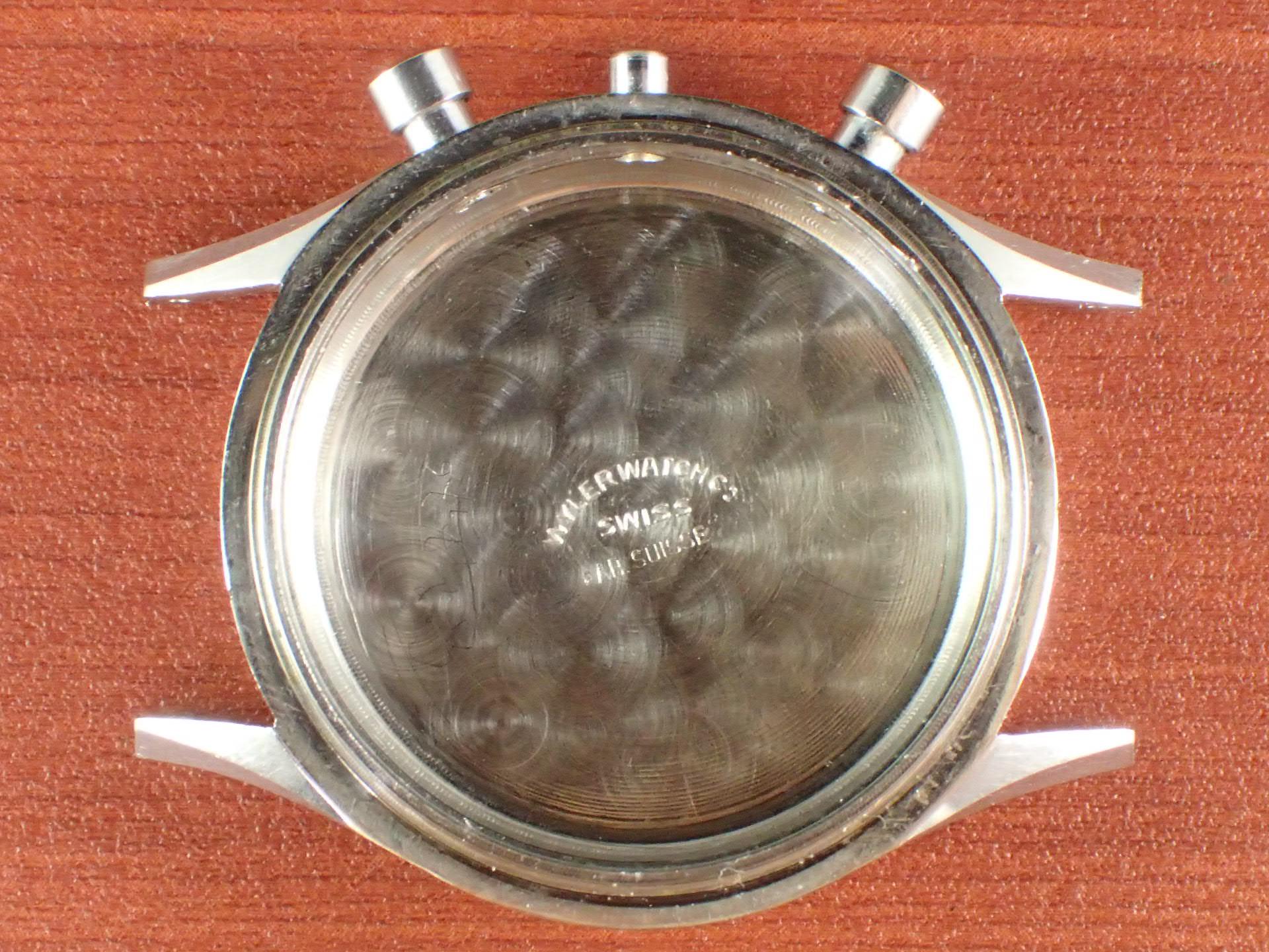 ワイラー クロノグラフ Cal.バルジュー23 インカフレックス 1940年代の写真6枚目