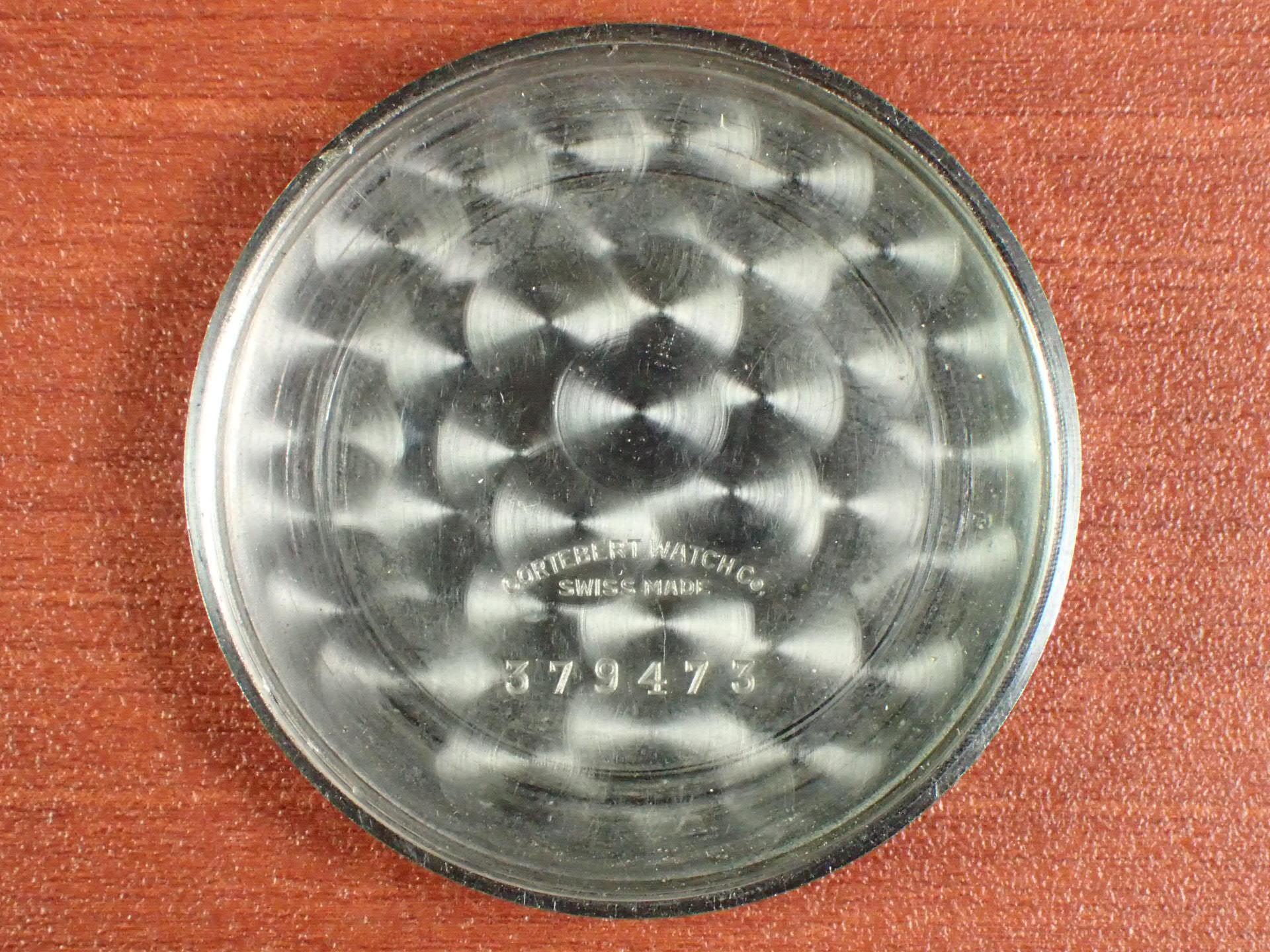 コルトベルト クロノグラフ Cal.Venus170 コパーダイアル 1940年代の写真6枚目