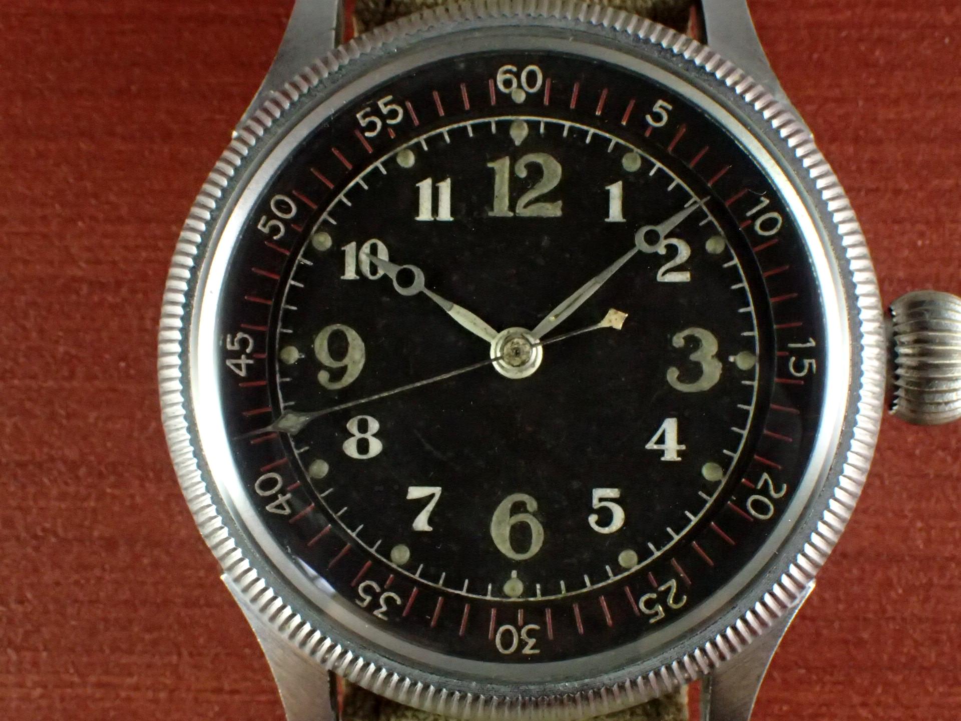 精工舎 旧日本海軍航空隊 天測時計 太平洋戦争 1940年代の写真2枚目