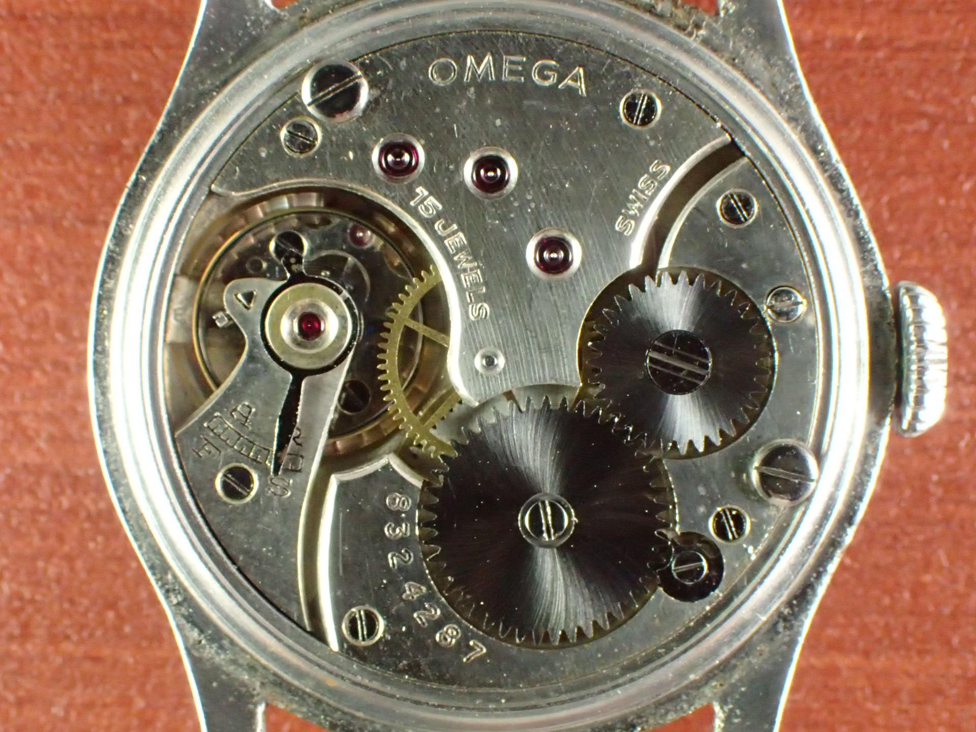 オメガ ローマンセクターダイアル フラットベゼル Cal.26.5 SOB 1930年代の写真5枚目
