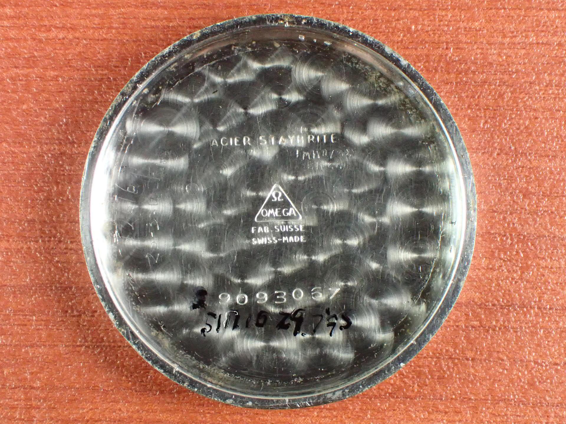 オメガ ローマンセクターダイアル フラットベゼル Cal.26.5 SOB 1930年代の写真6枚目