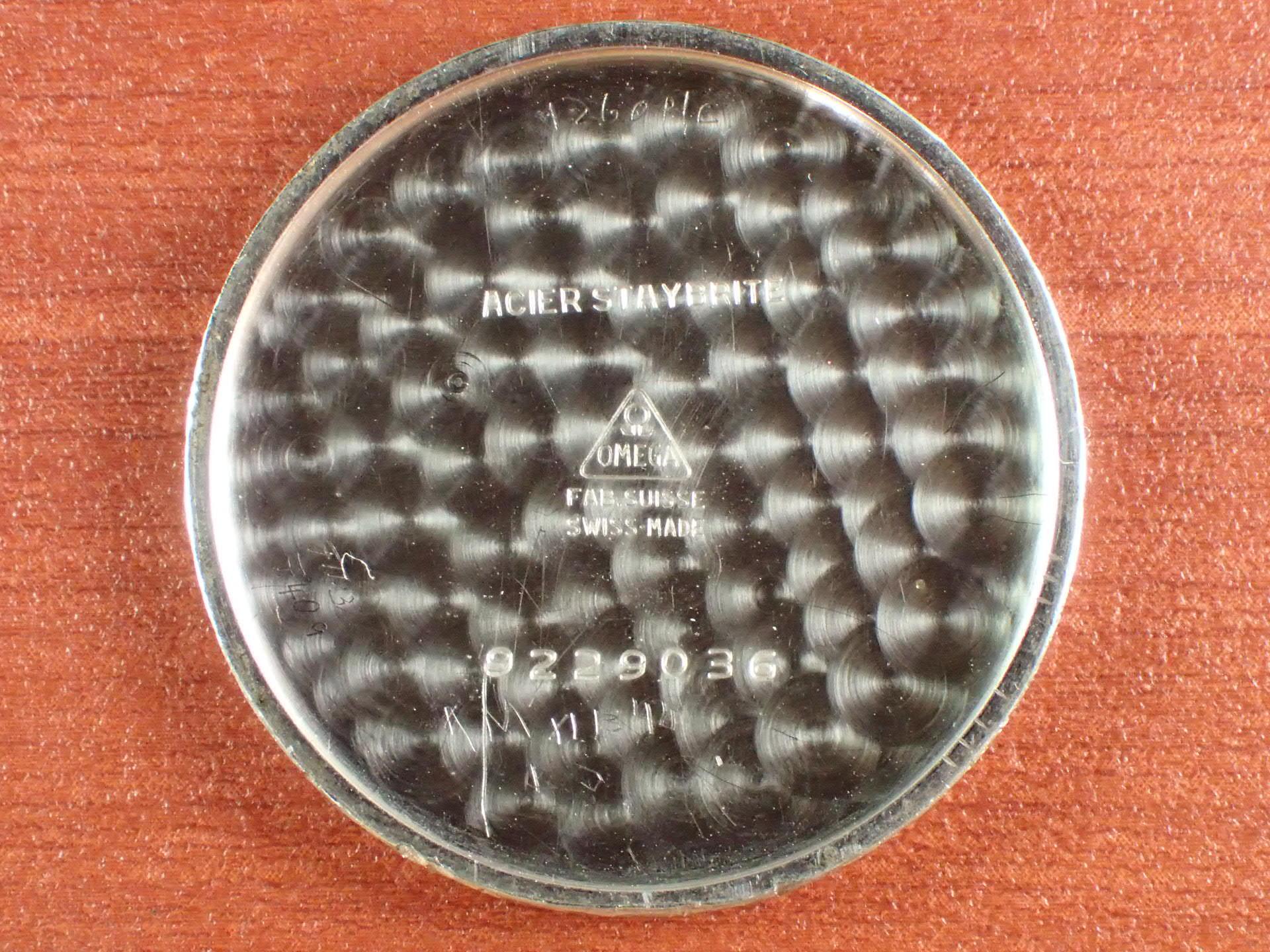 オメガ ポーセリンダイアル スモールセコンド Cal.26.5 SOB 1930年代の写真6枚目