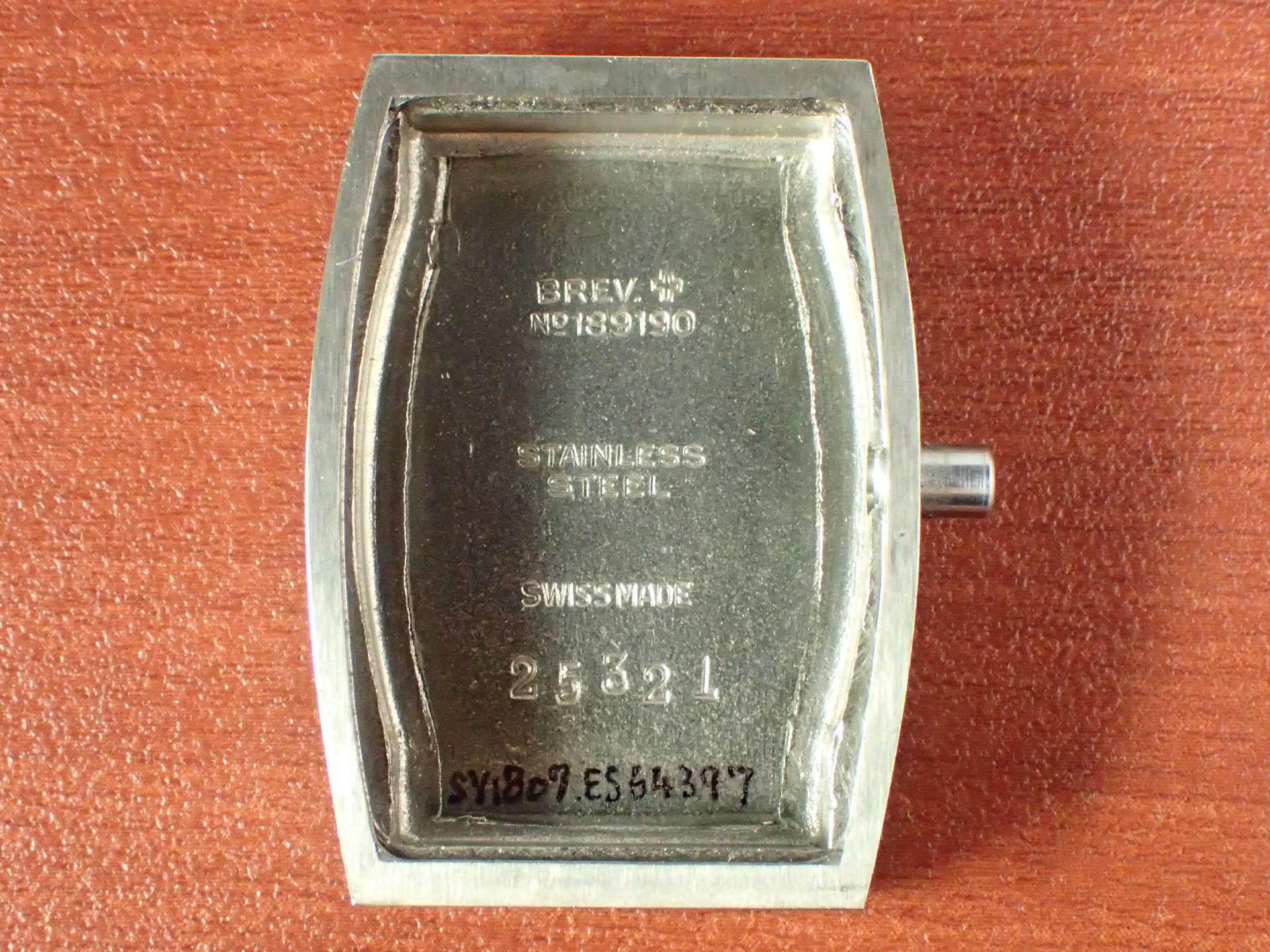 シーマ クラムシェル トノーケース 2トーンダイアル N.O.S. 1940年代の写真6枚目
