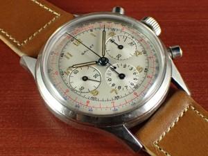 ギャレット クロノグラフ エクセルシオパーク40-68 ホワイトダイアル 1960年代