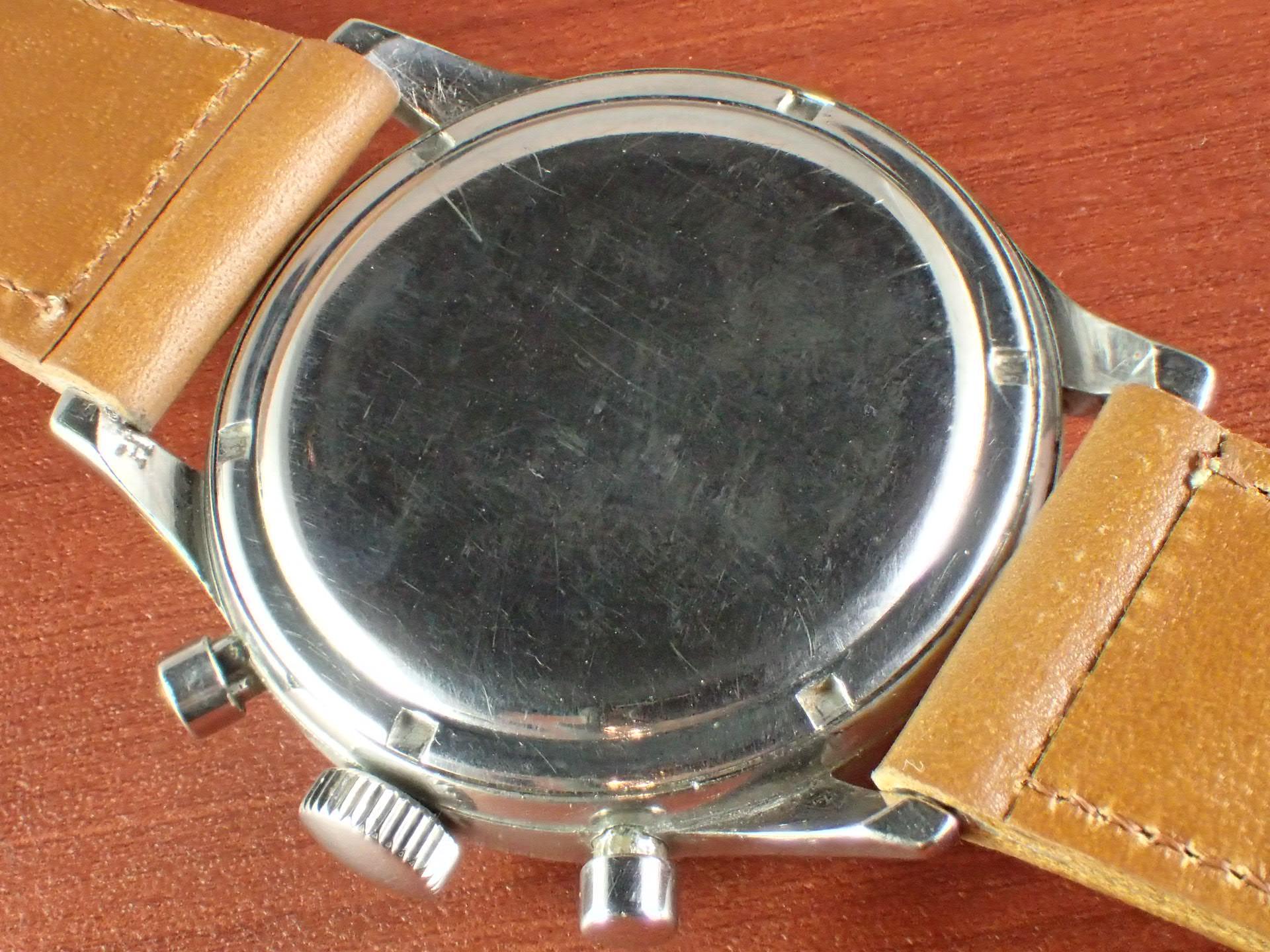 ギャレット クロノグラフ エクセルシオパーク40-68 ホワイトダイアル 1960年代の写真4枚目