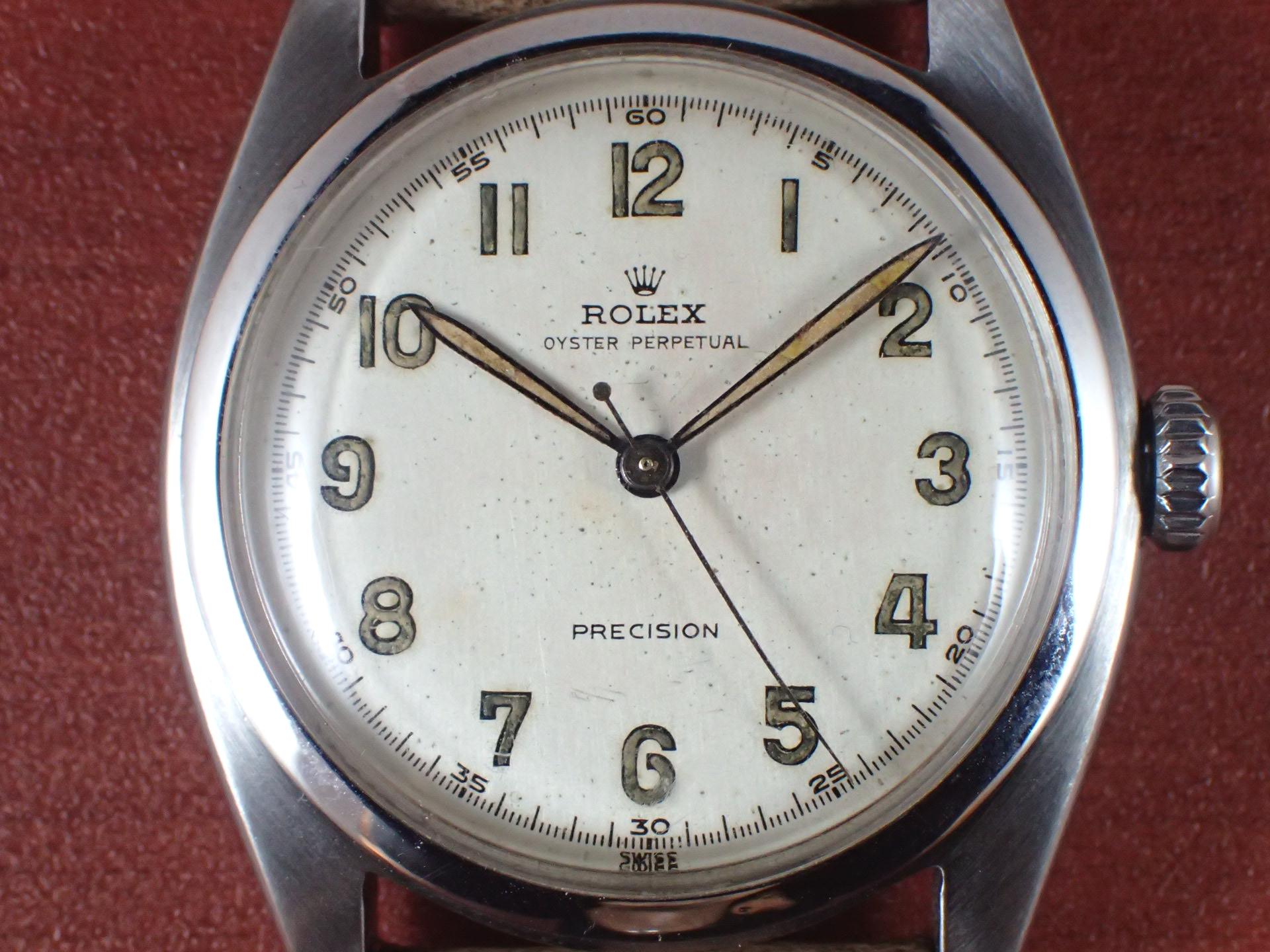 ロレックス ビッグバブルバック Ref.6098 プロペラハンド 1950年代の写真2枚目