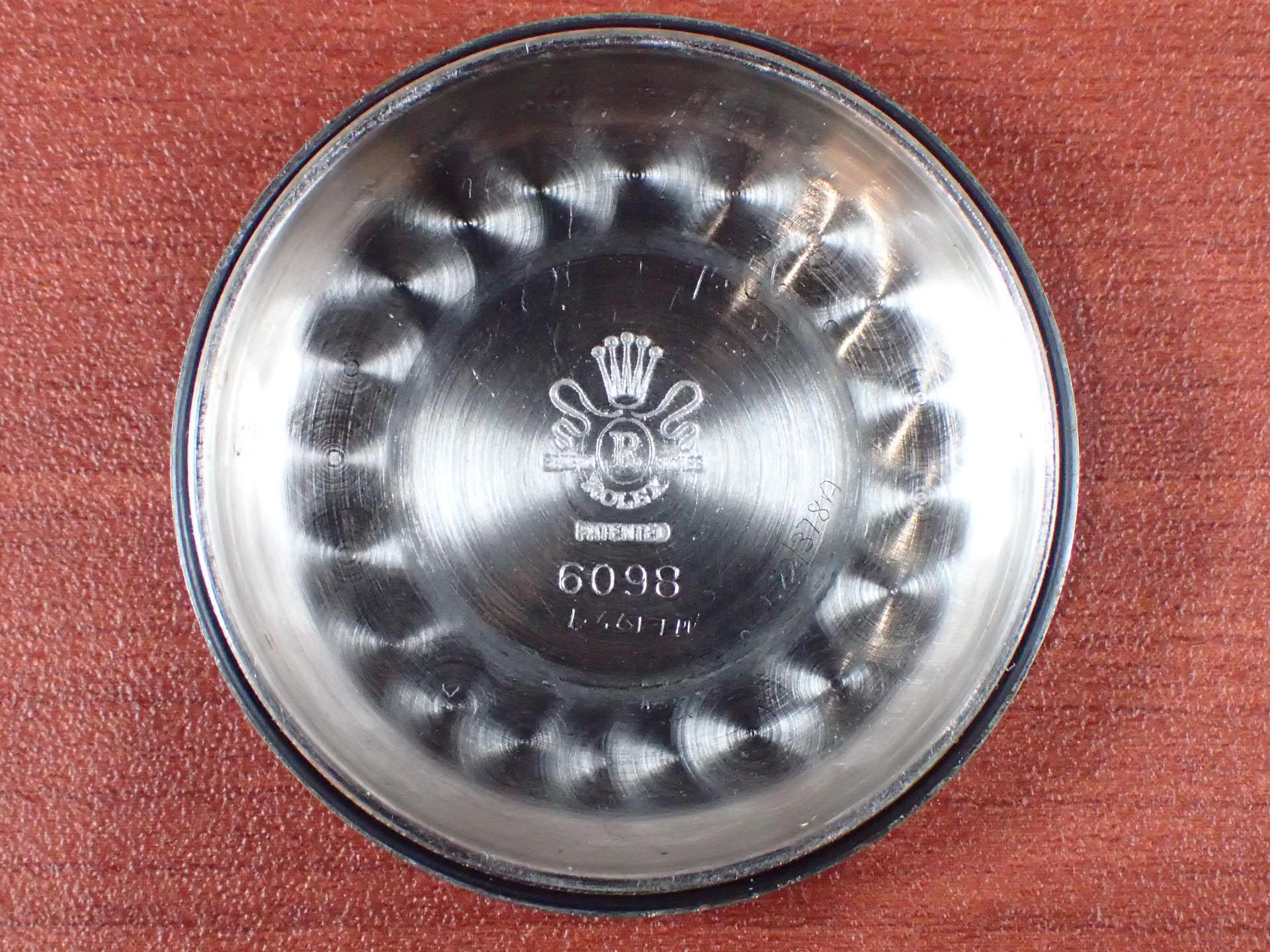ロレックス ビッグバブルバック Ref.6098 プロペラハンド 1950年代の写真6枚目