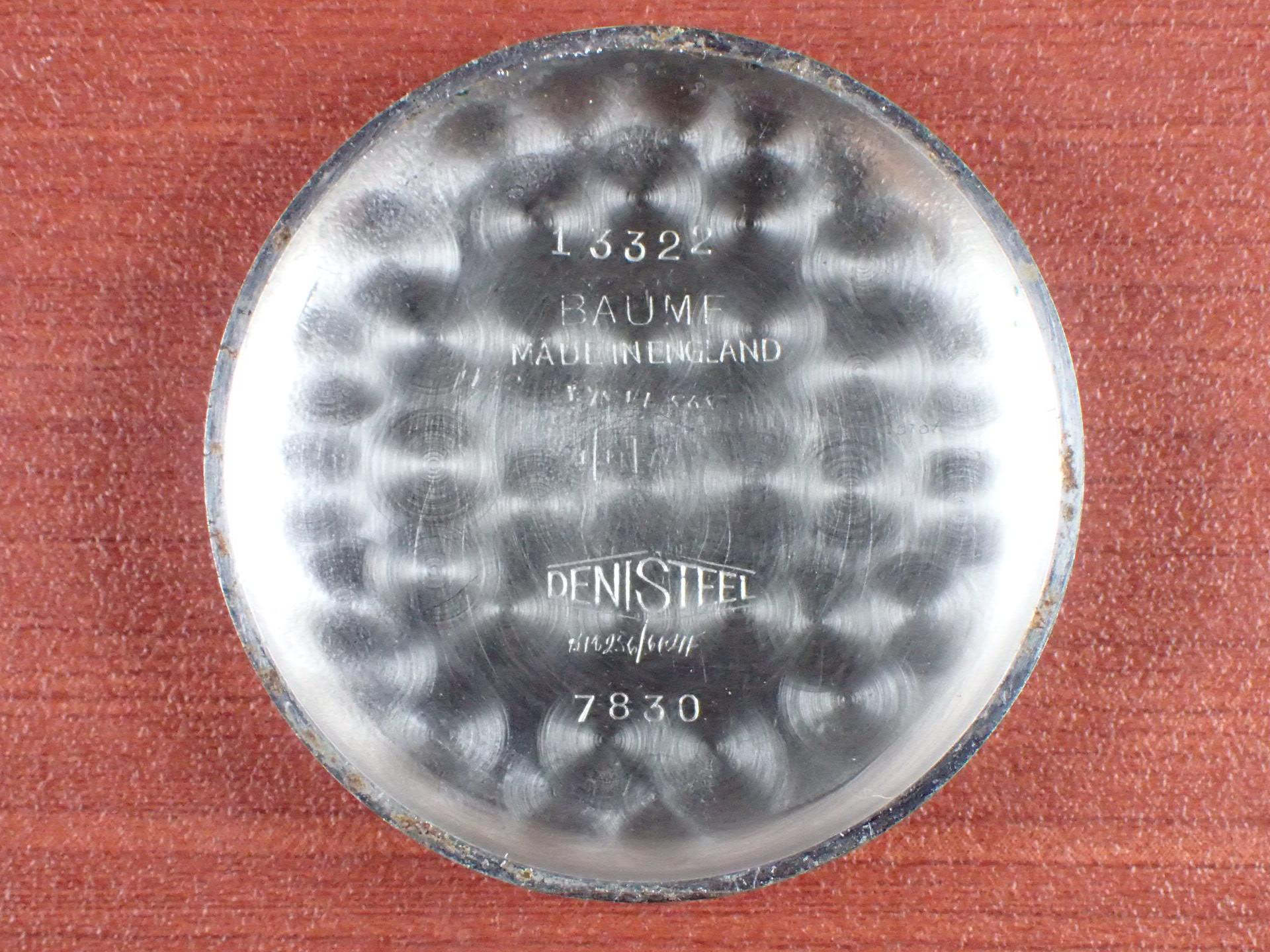 ロンジン キャリバー12.68ZS アプライドインデックス デニソンケース 1950年代の写真6枚目