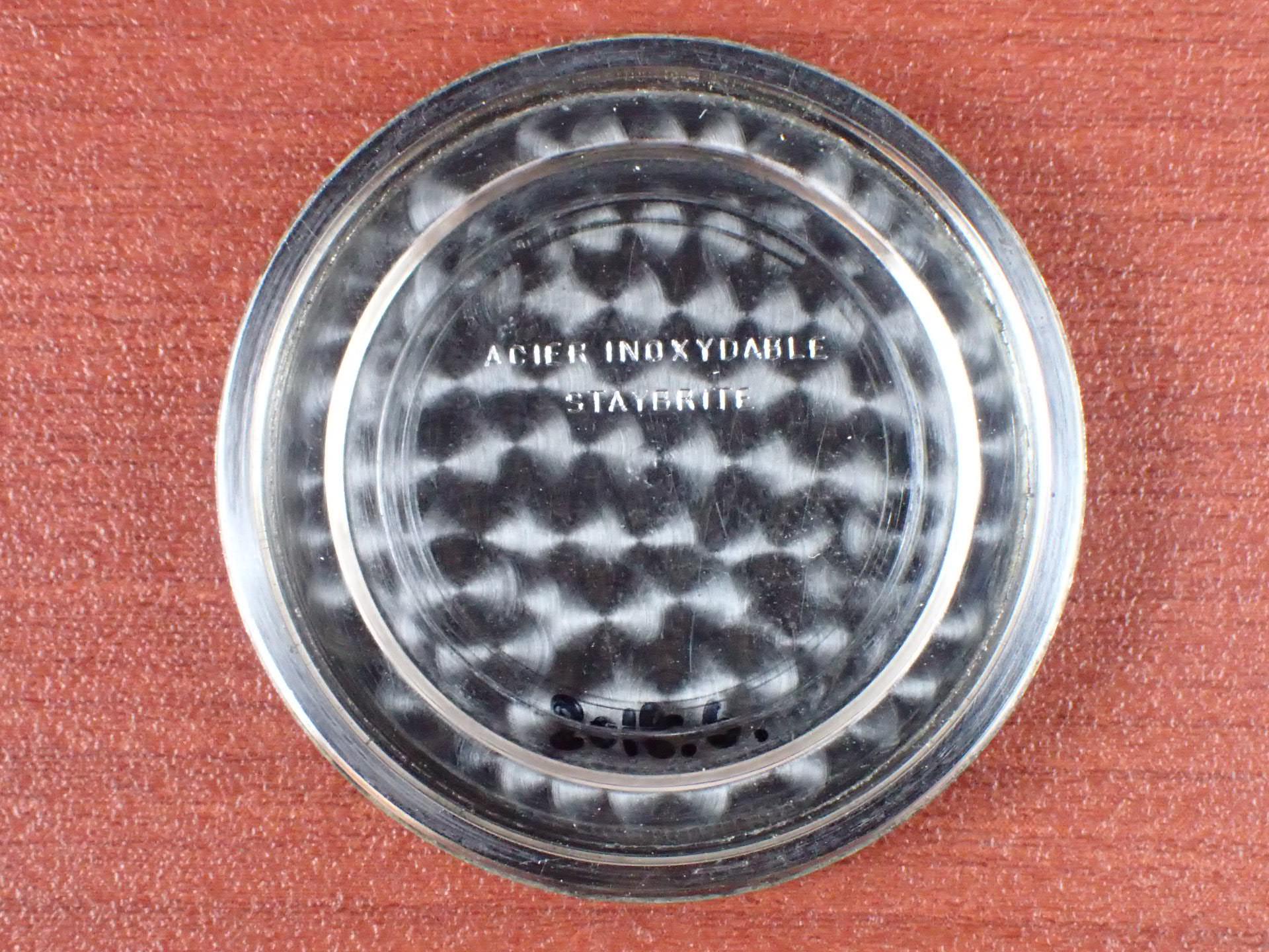 ロンジン ワイドステップベゼル 35mm トレタケ セクターダイアル 1930年代の写真6枚目