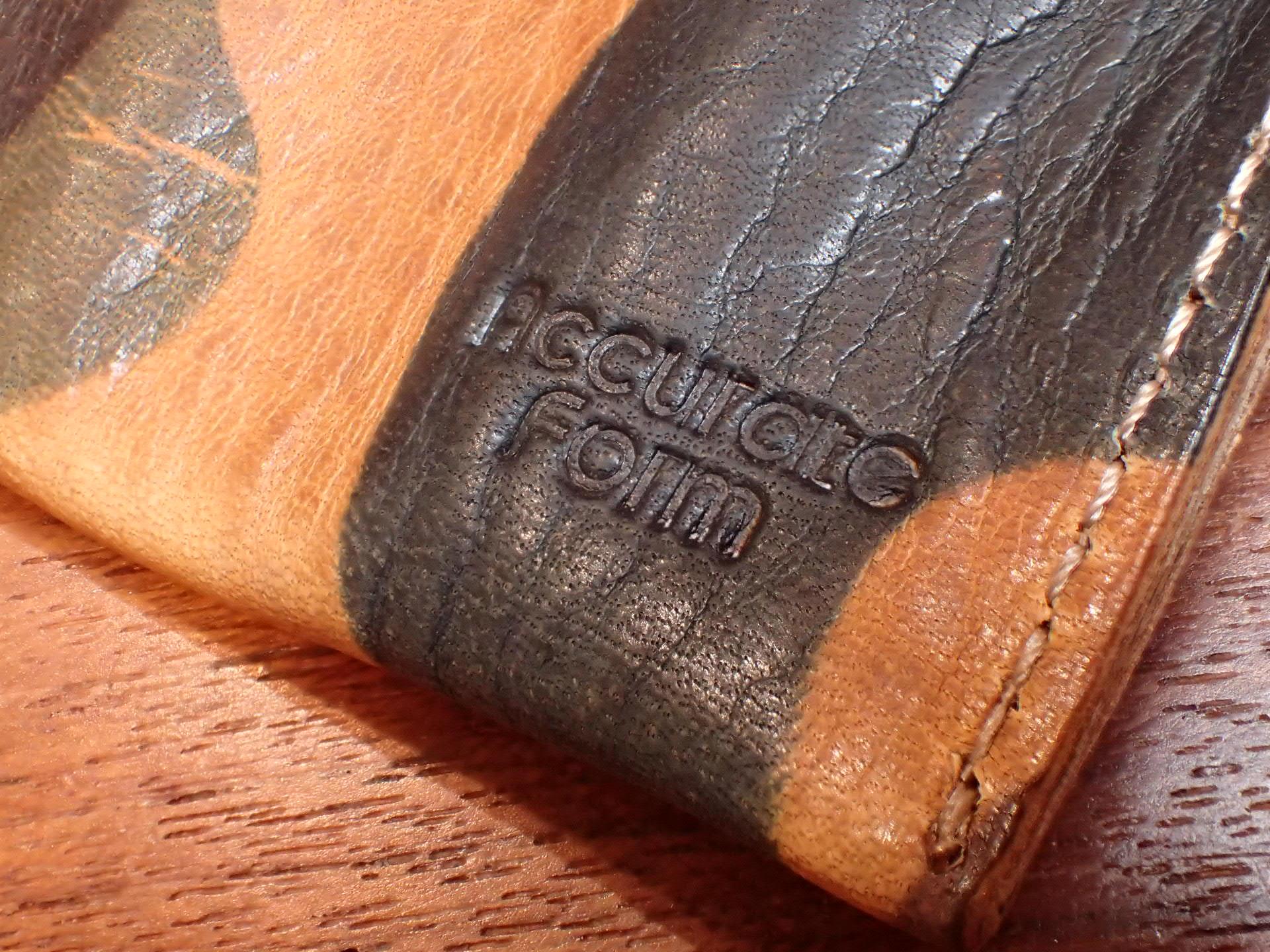 本革6本入り 携帯時計ケース 牛革 カモフラ ブラウン の写真4枚目