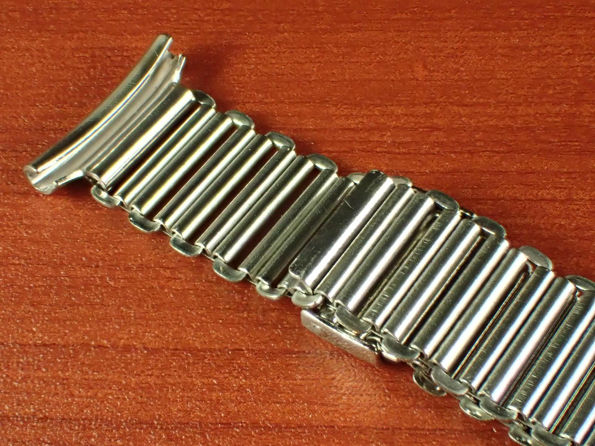 ボンクリップ バンブーブレス NOS リンク13mm 取付16mm Rエンド SS 1940年代の写真4枚目