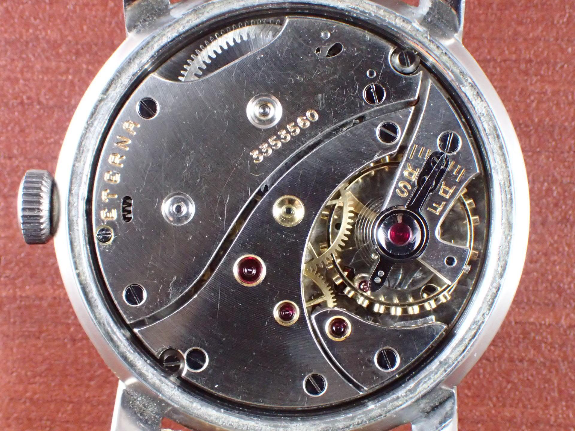 エテルナ キャリバー852L ラージケース 38mm 1940年代の写真5枚目