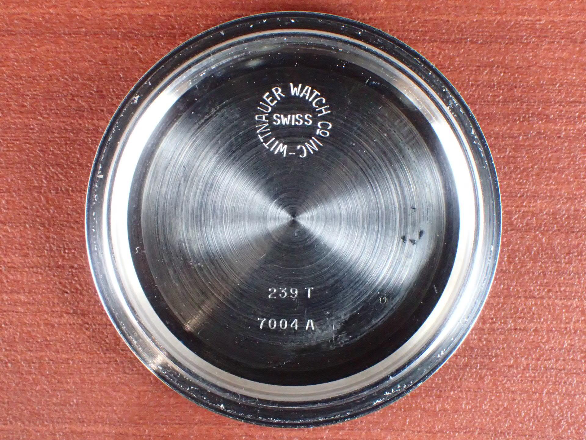 ウィットナー プロフェッショナル クロノグラフ 初期タイプ 1960年代の写真6枚目