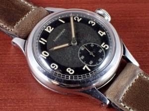ロンジン ブルズアイ ブラック/グレー Cal.12.68Z 1940年代