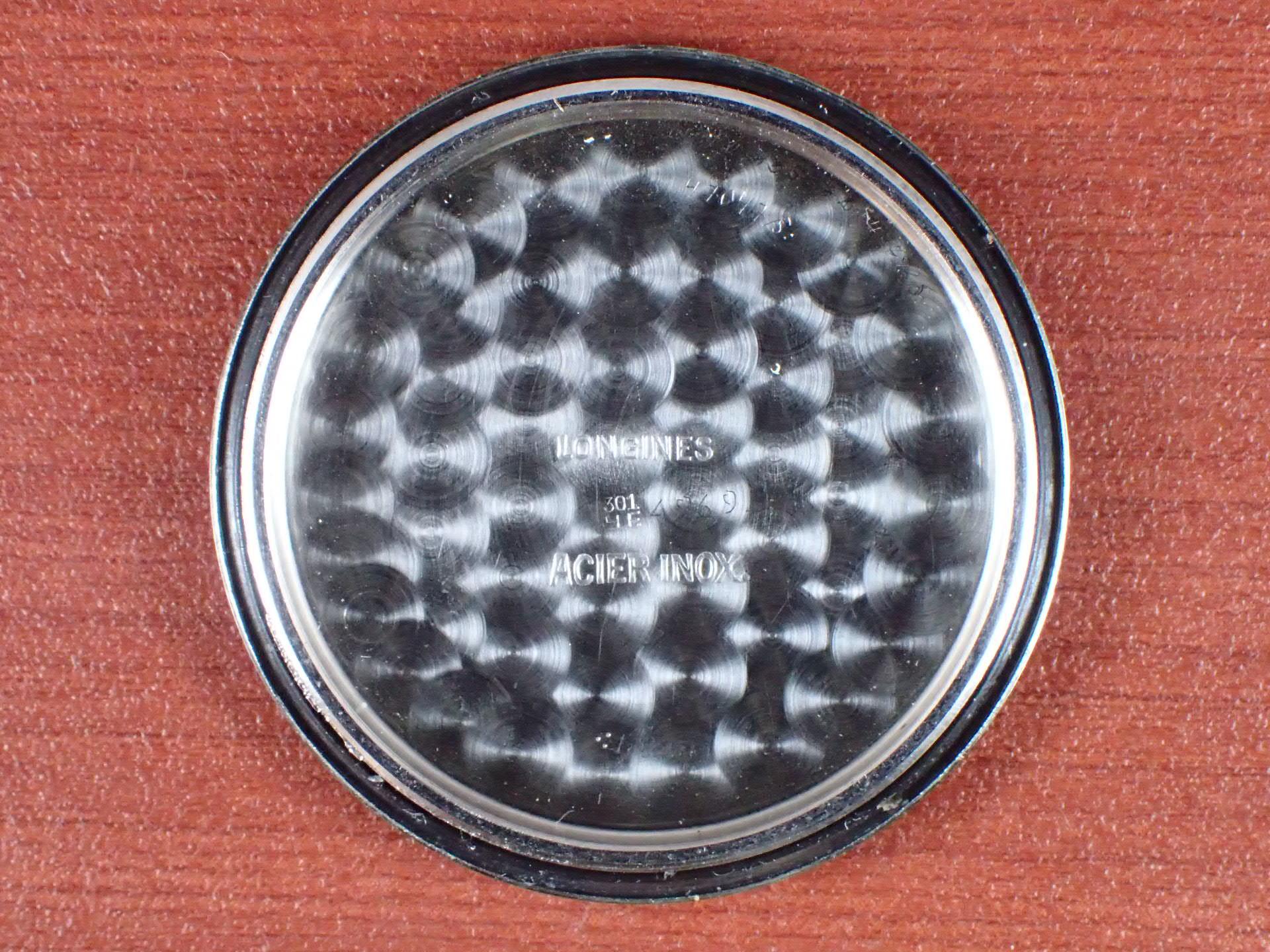 ロンジン ブルズアイ ブラック/グレー Cal.12.68Z 1940年代の写真6枚目