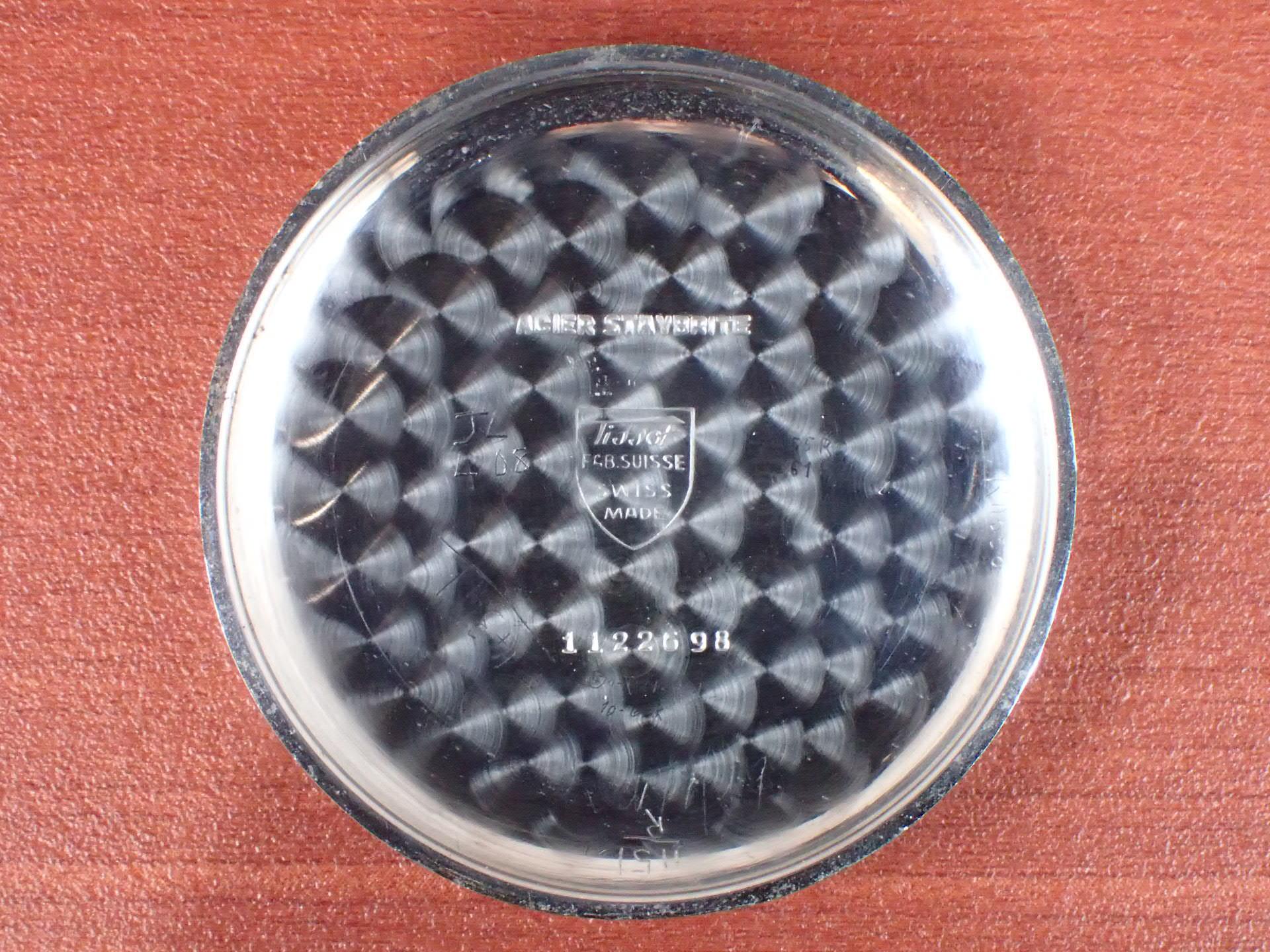ティソ クロノグラフ キャリバー15TL シリンダーケース 1940年代の写真6枚目