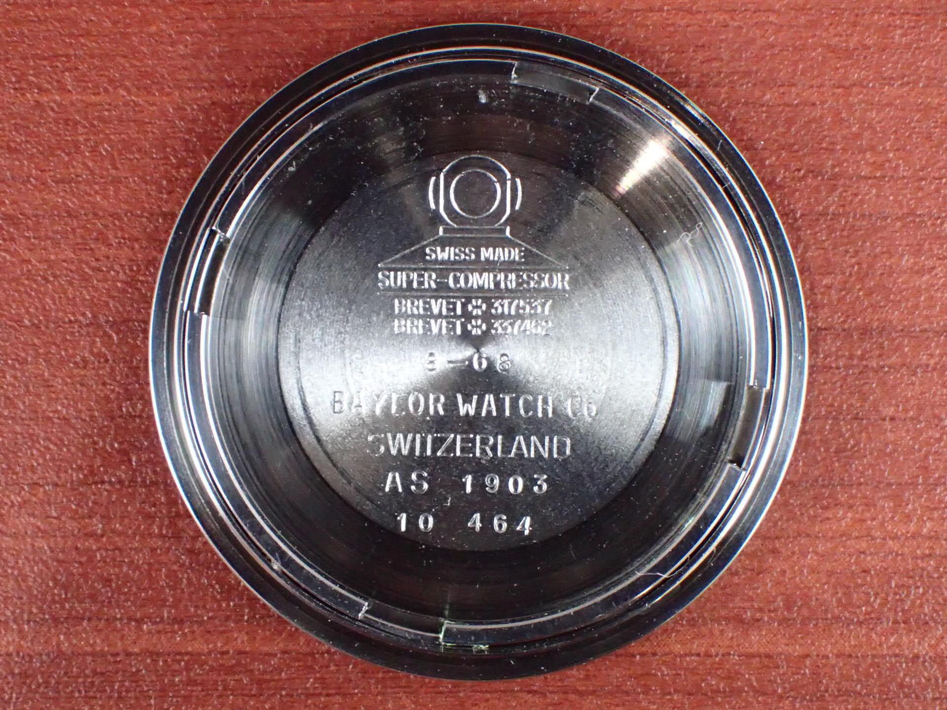 ベイラー ダイバーズウォッチ スーパーコンプレッサー 1960年代の写真6枚目