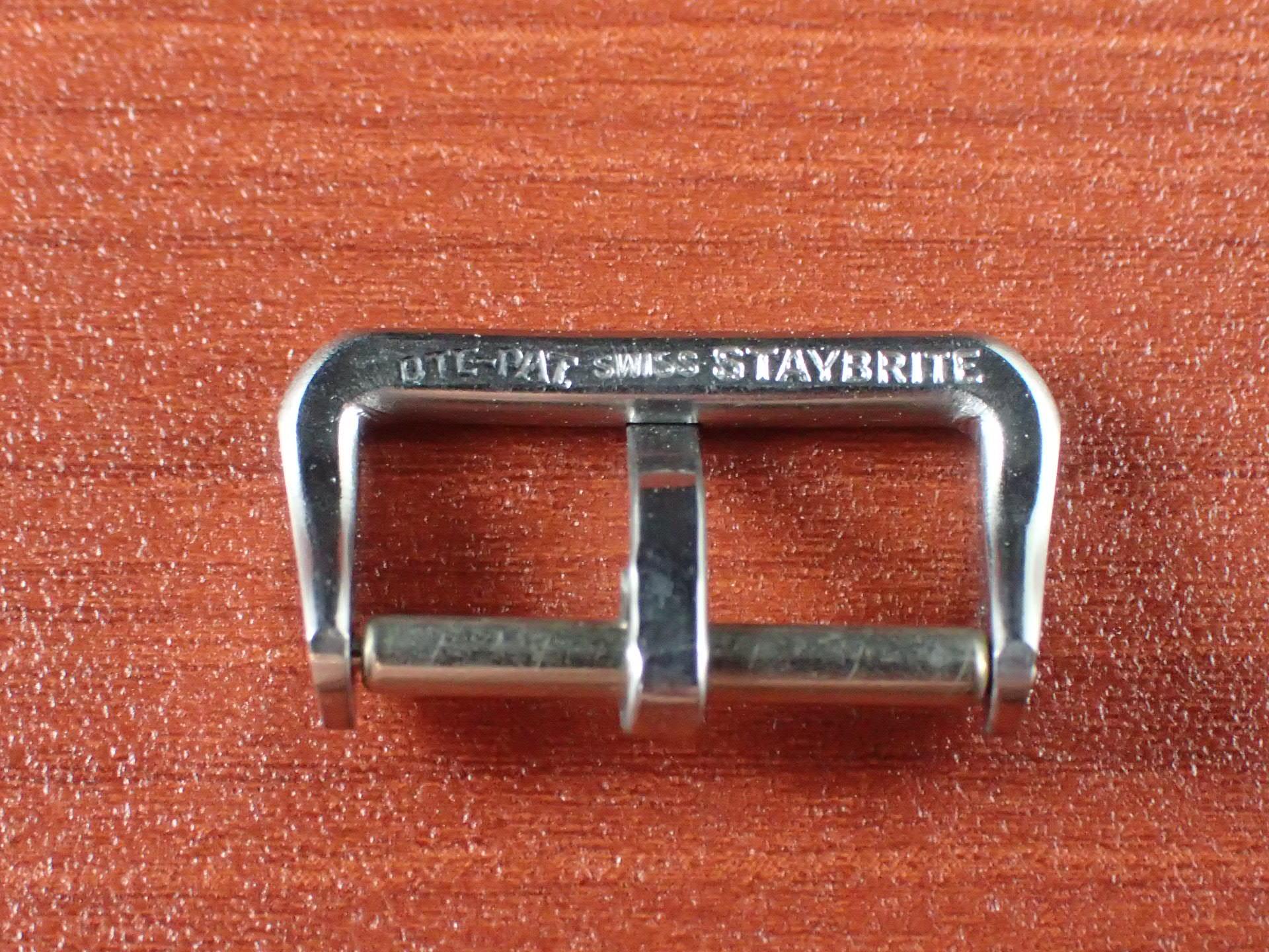 ヴィンテージSS尾錠 16mm ニューオールドストック N.O.S. 1940年代の写真5枚目