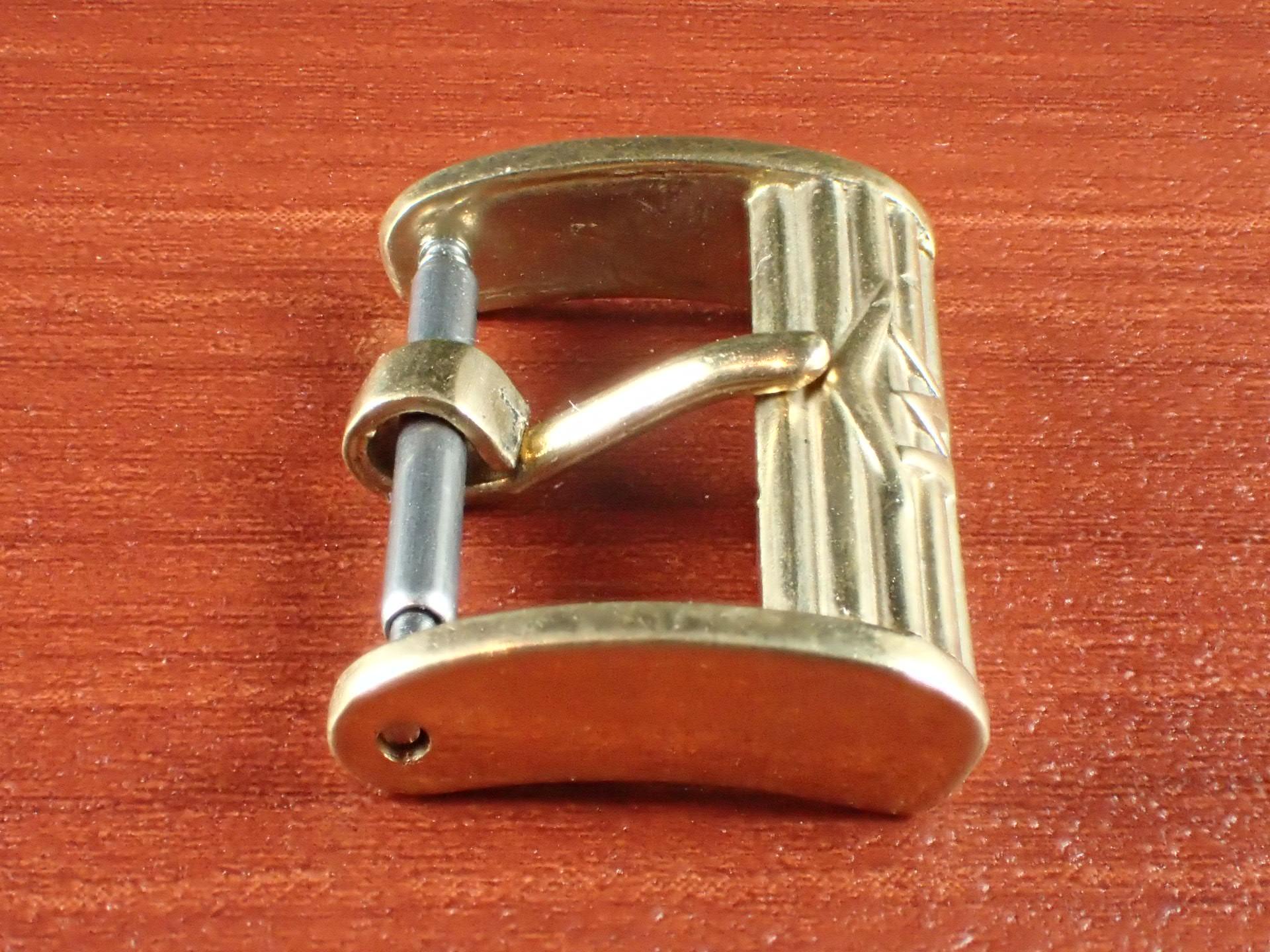 モバード ヴィンテージ尾錠 YGF 1950年代の写真3枚目